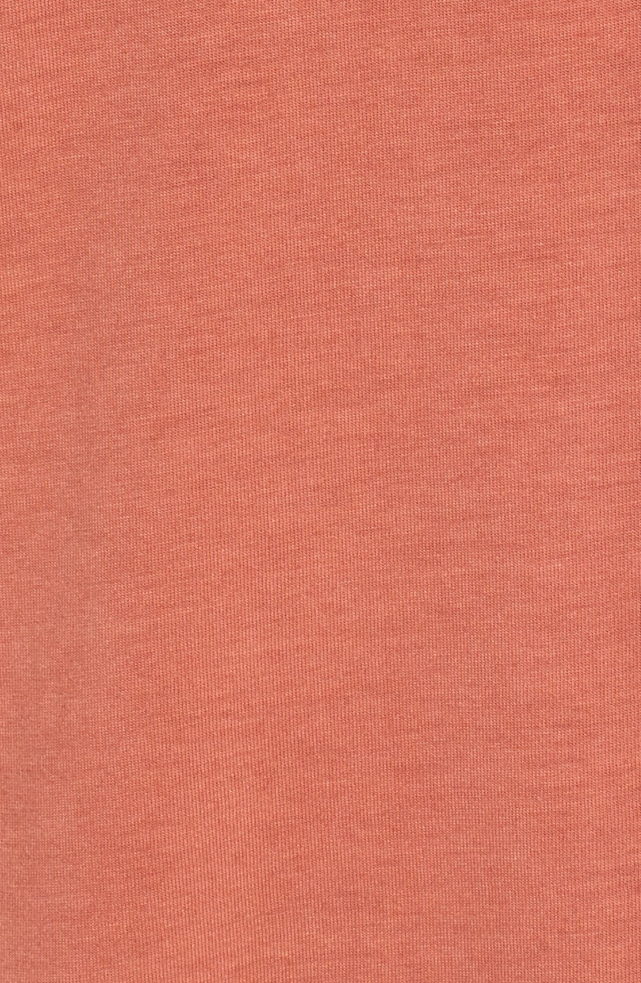 Pocket Tank Dress,                             Alternate thumbnail 6, color,                             PINK DESERT