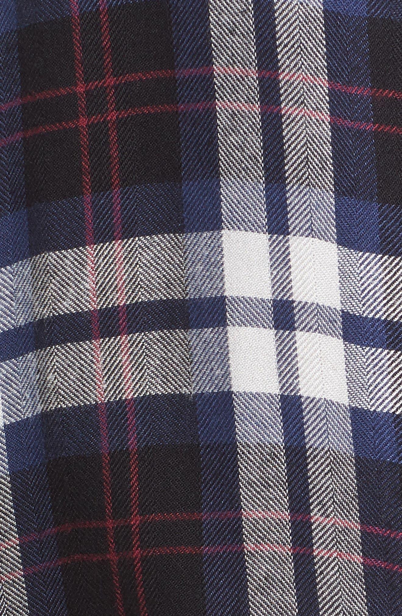 Hunter Plaid Shirt,                             Alternate thumbnail 551, color,