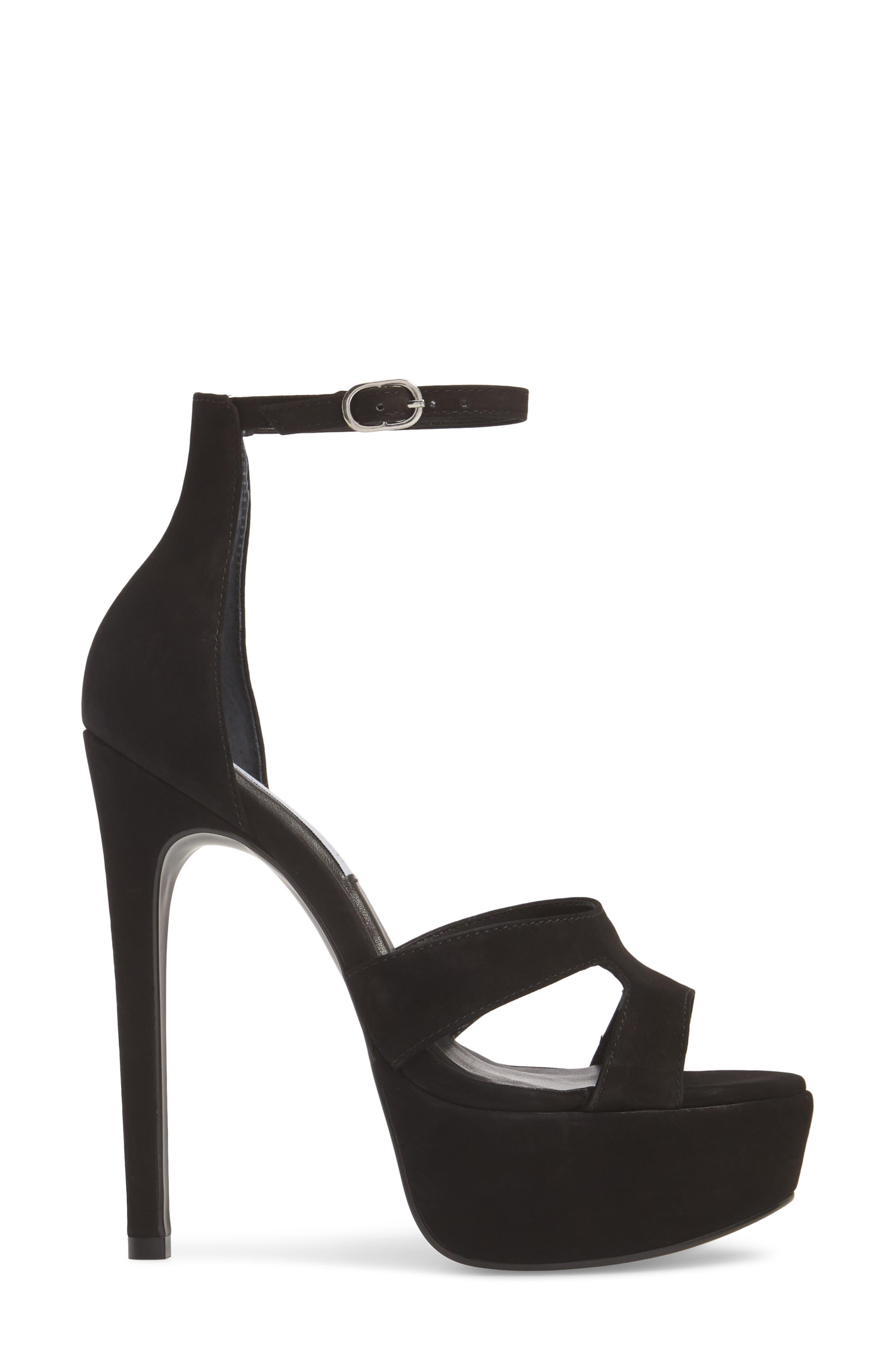 Janelle Platform Sandal,                             Alternate thumbnail 3, color,                             005