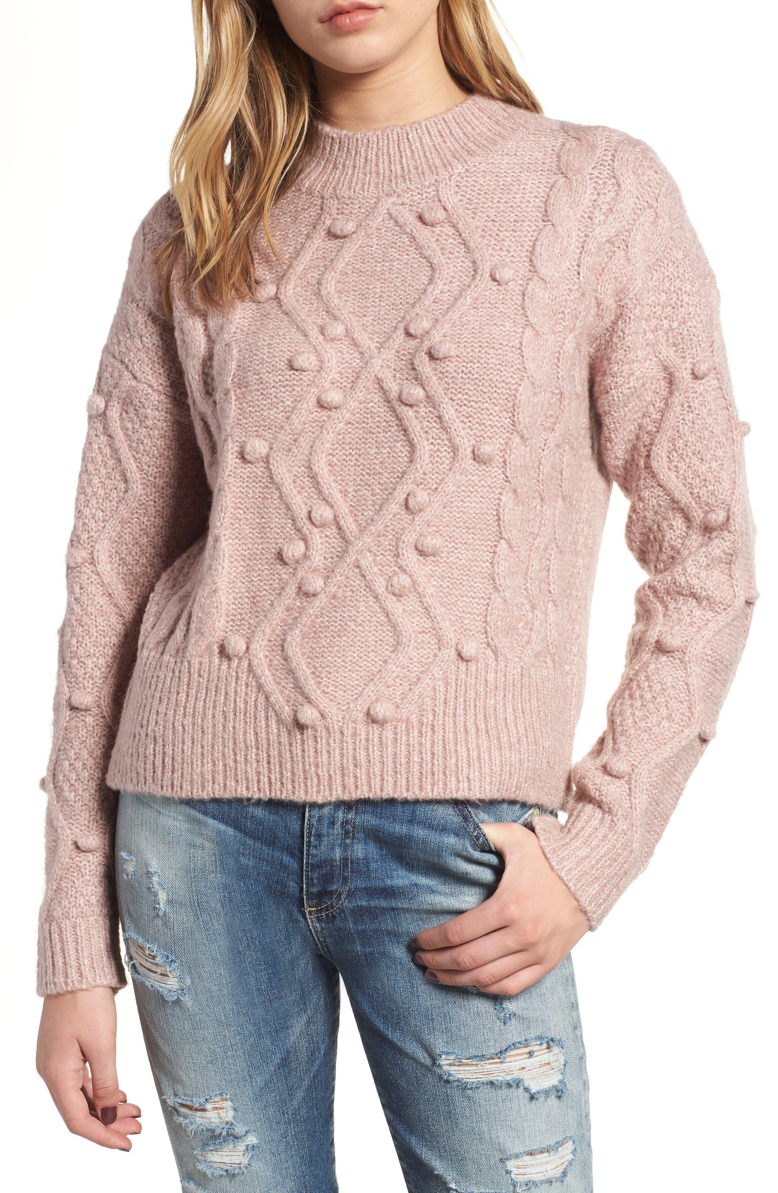 HEARTLOOM Hazel Sweater in Mauve