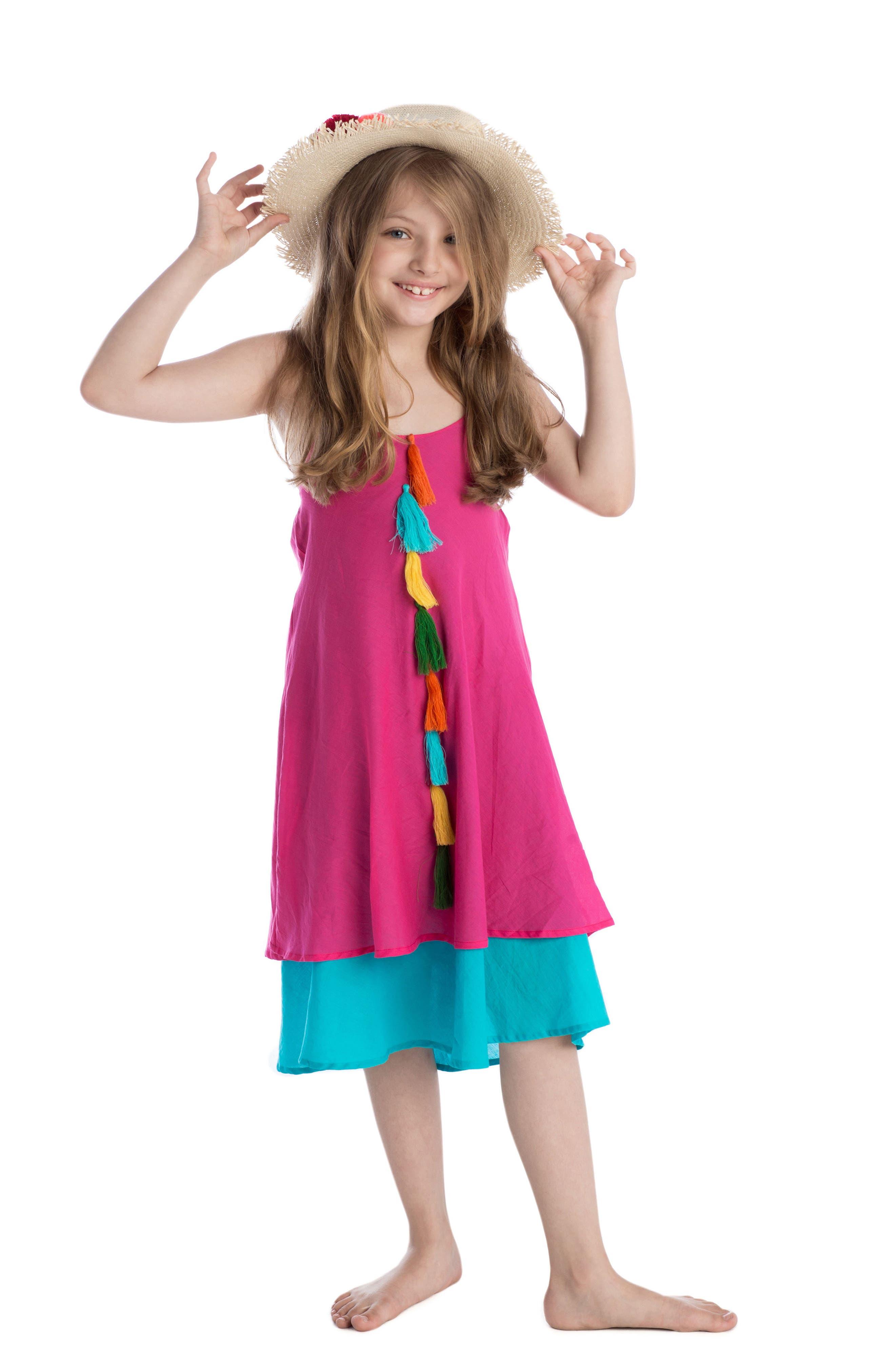 Petal Halter Dress,                             Alternate thumbnail 2, color,                             664