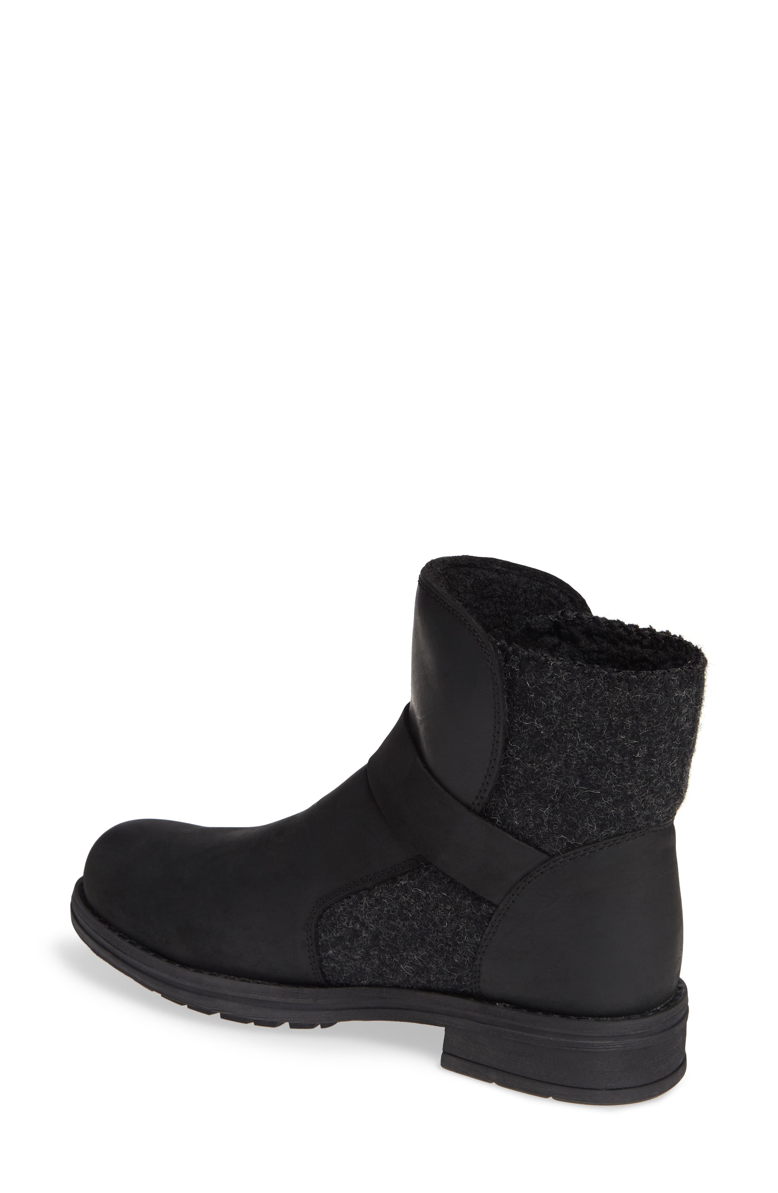 Pioneer Bootie,                             Alternate thumbnail 2, color,                             BLACK LEATHER