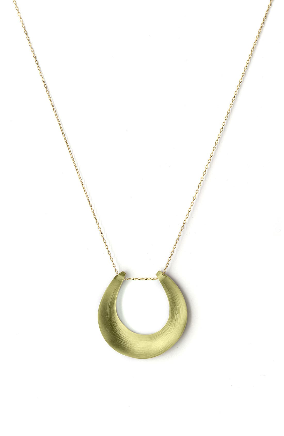 Small Horseshoe Necklace,                             Main thumbnail 3, color,