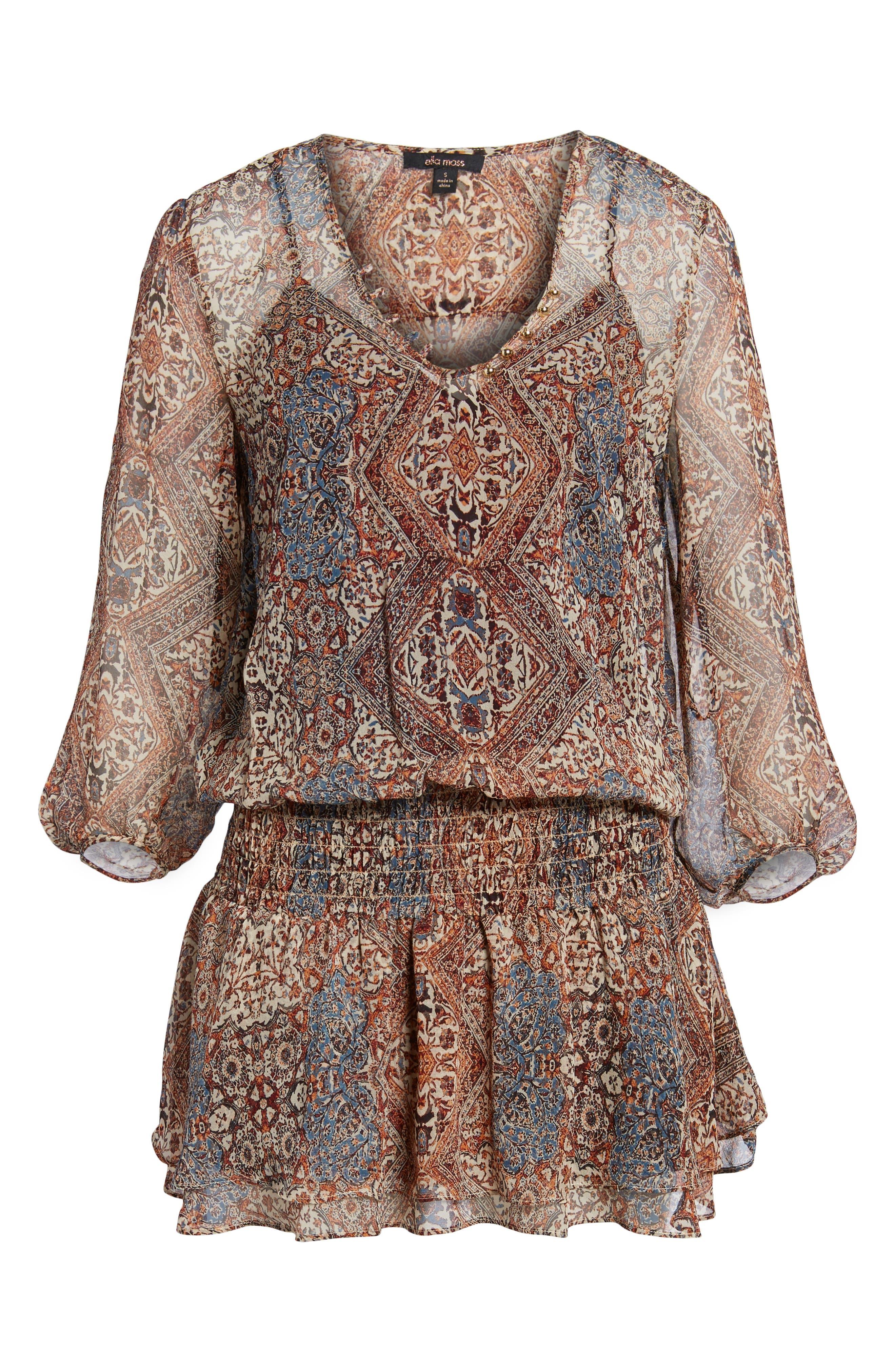 Casablanca Dress,                             Alternate thumbnail 6, color,                             908