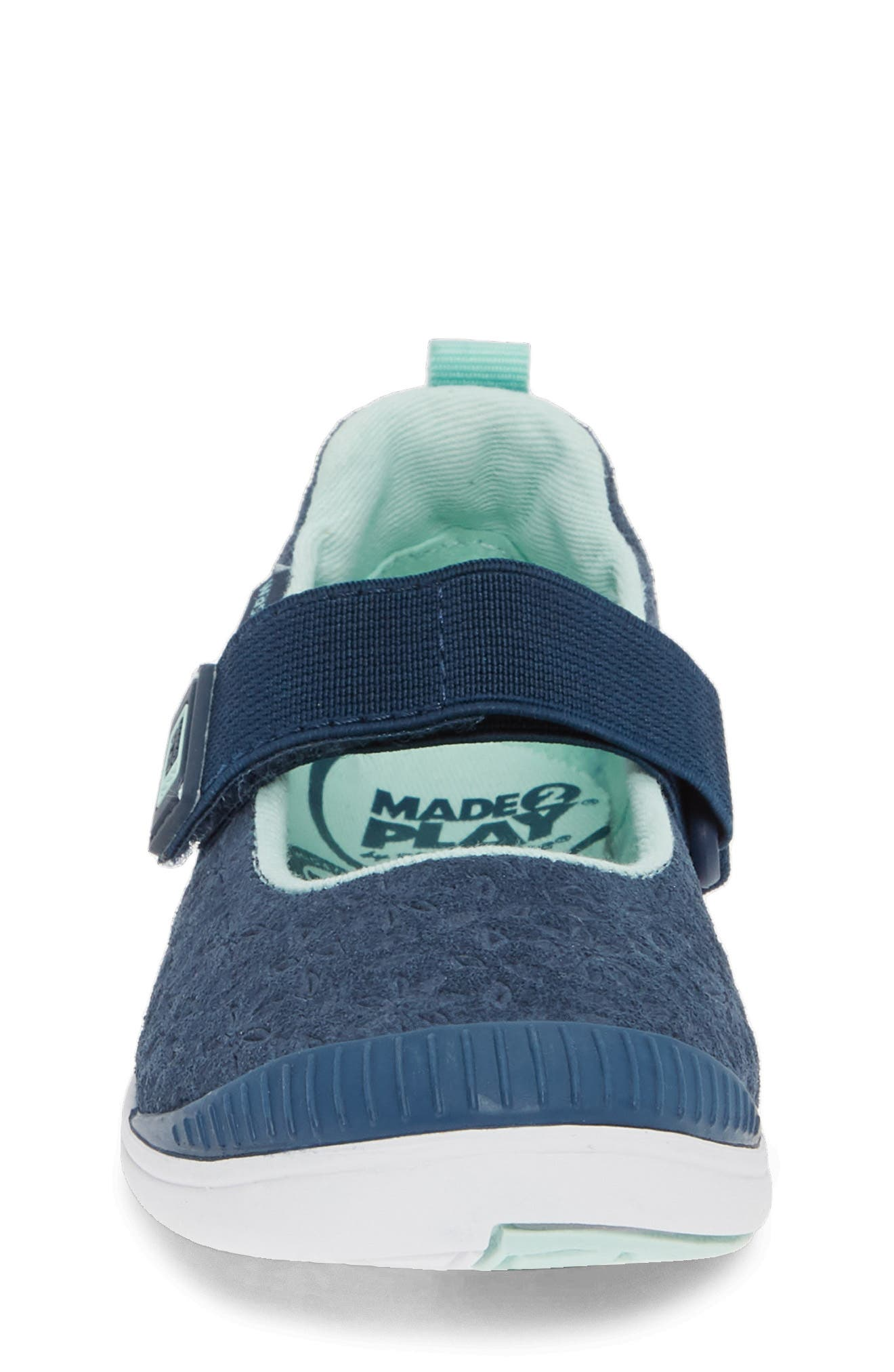 Made2Play<sup>®</sup> Lia Washable Mary Jane Sneaker,                             Alternate thumbnail 4, color,                             NAVY