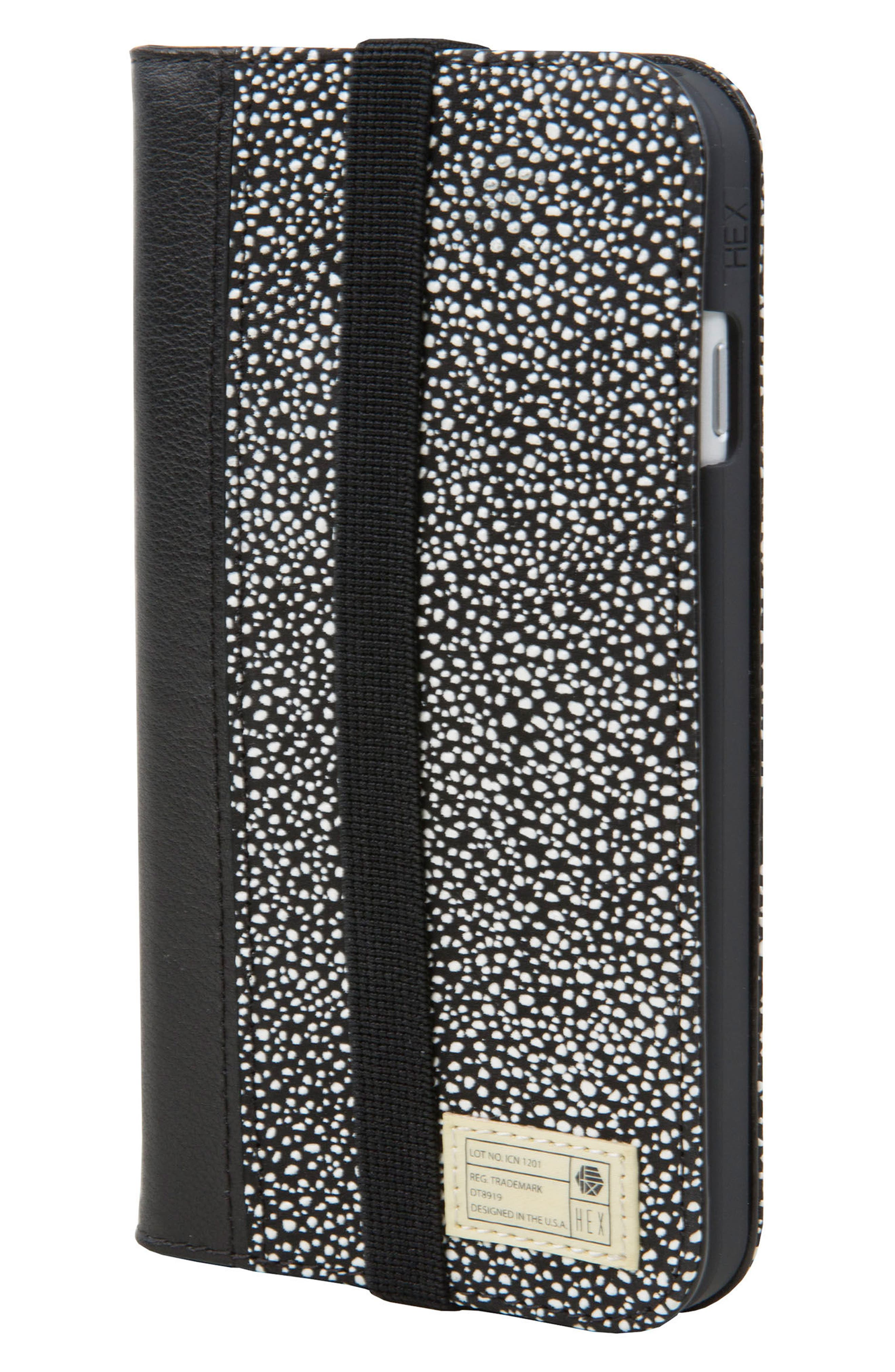Icon iPhone 6/6s/7/8 Wallet Case,                         Main,                         color, 004
