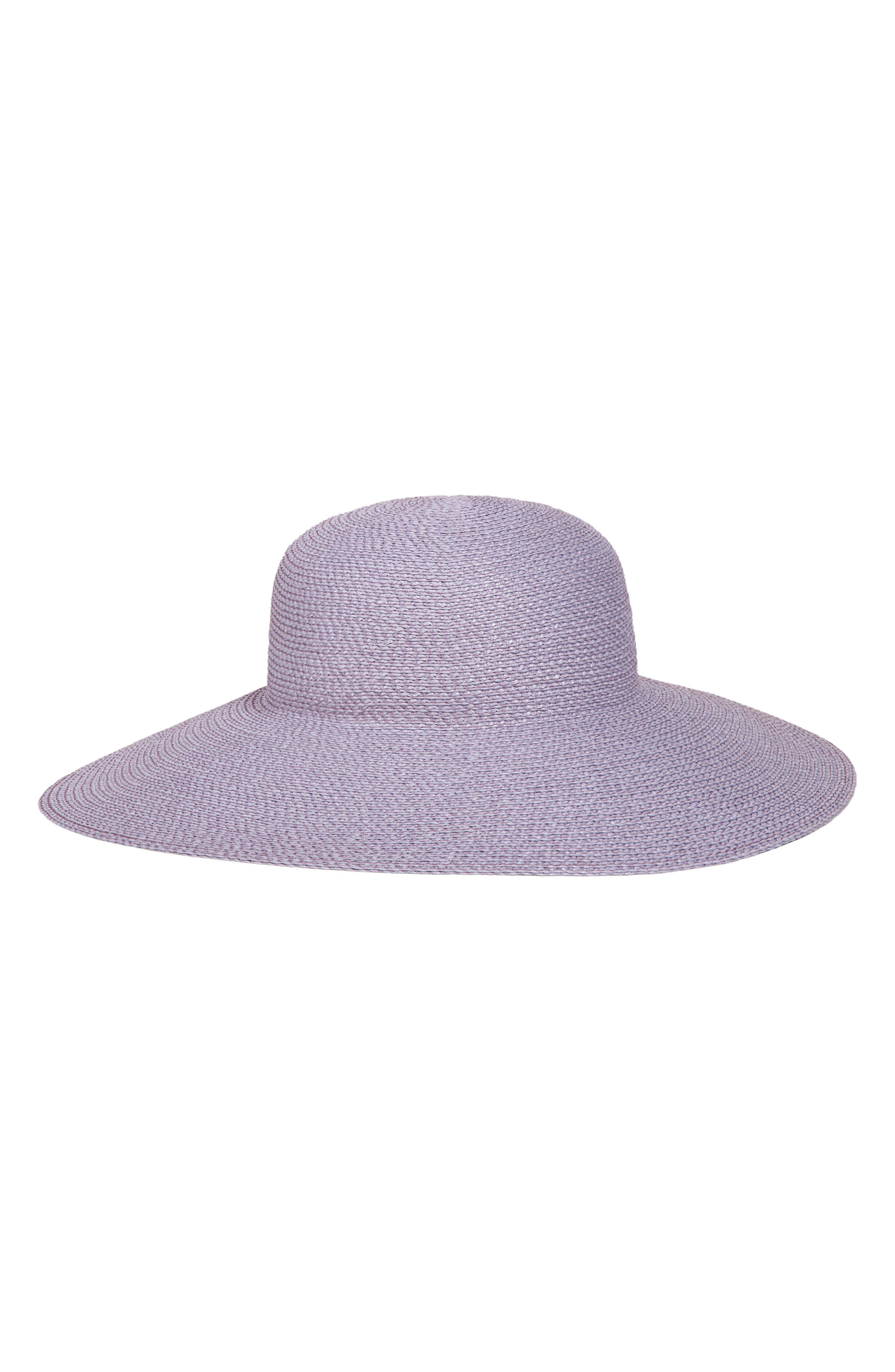 Bella Squishee<sup>®</sup> Sun Hat,                             Main thumbnail 1, color,                             LILAC