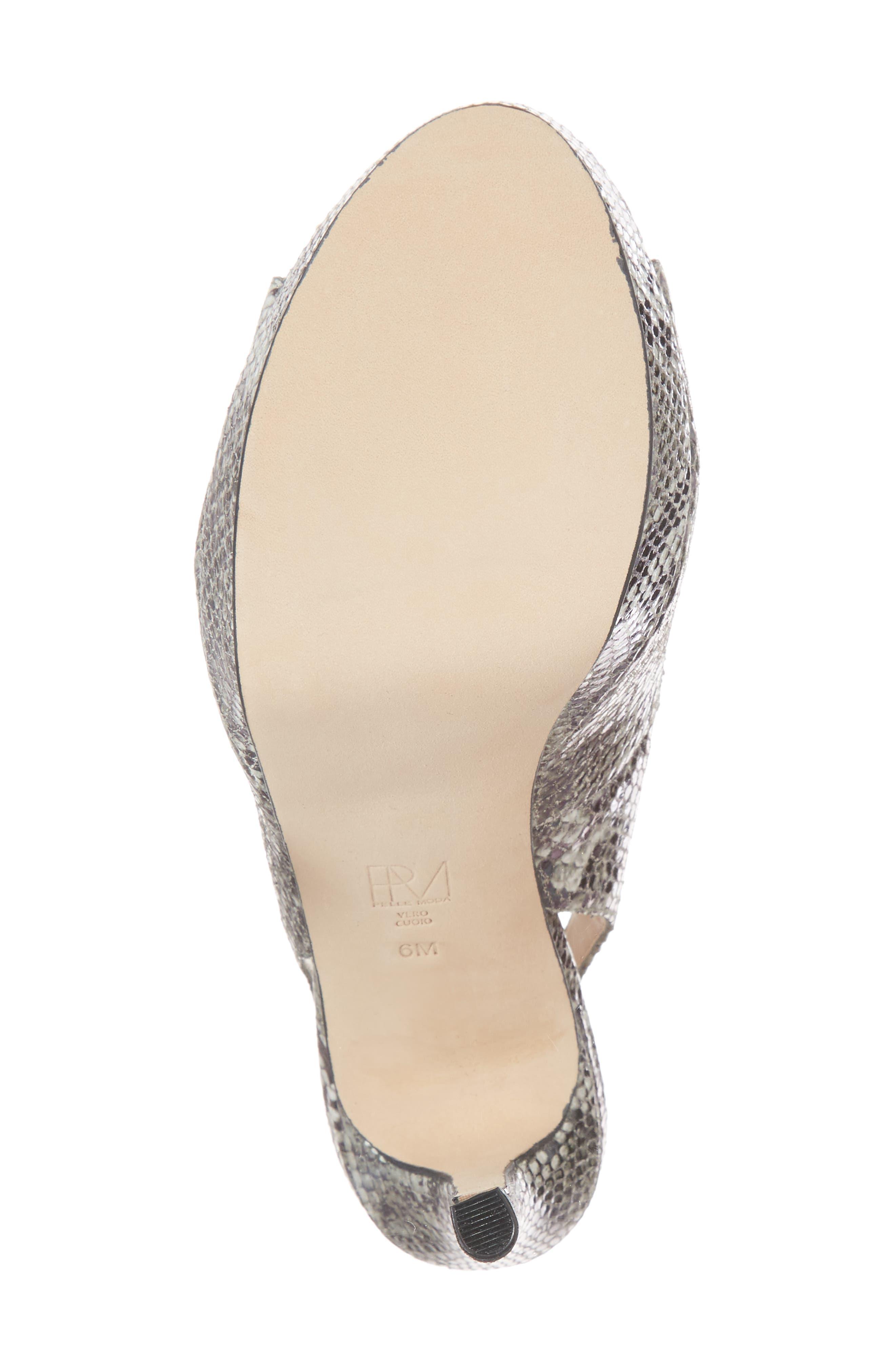 Oana Slingback Platform Sandal,                             Alternate thumbnail 6, color,                             022