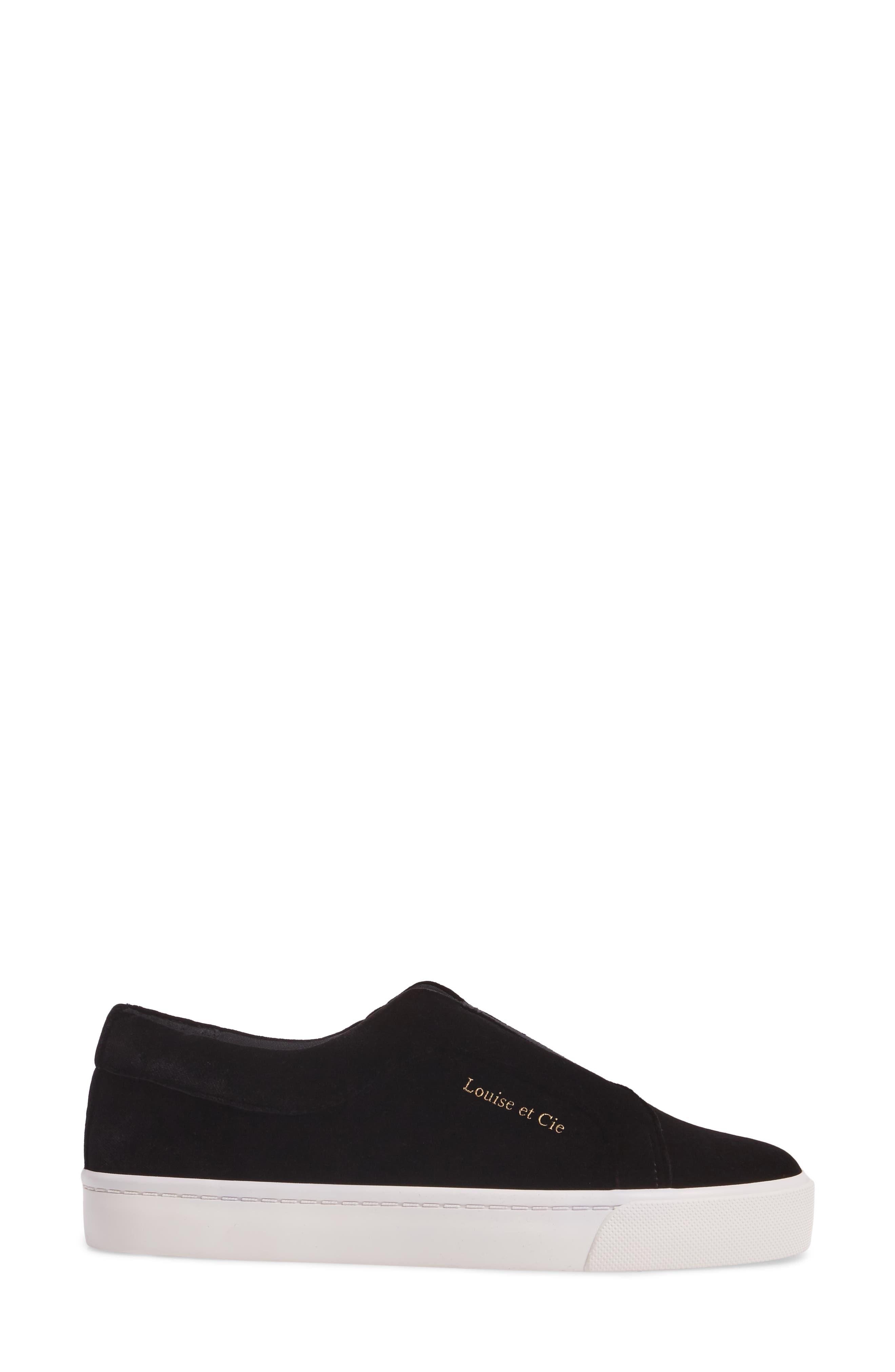 Bette Slip-On Sneaker,                             Alternate thumbnail 3, color,                             001