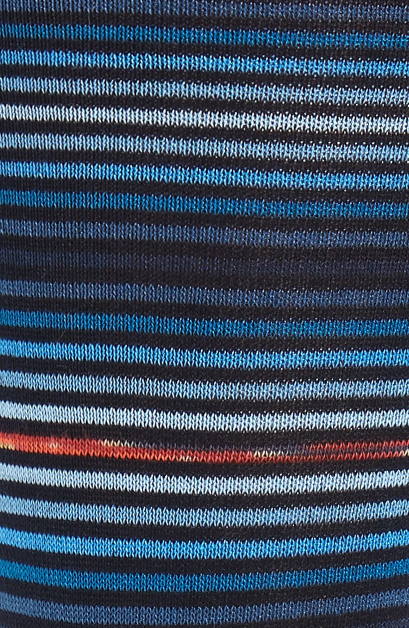Stripe Socks,                             Alternate thumbnail 2, color,                             NIGHT BLUE