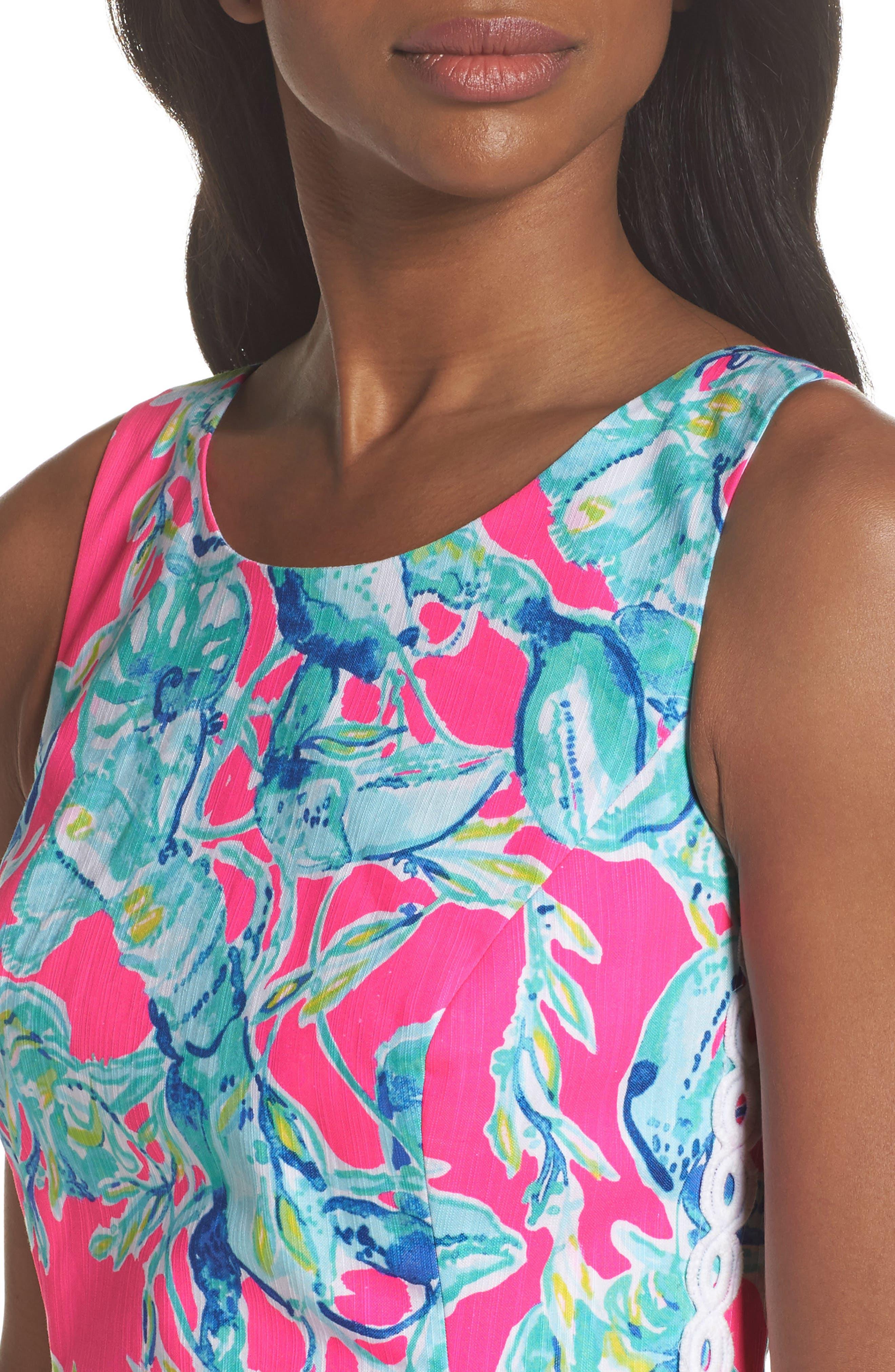 Mila Sheath Dress,                             Alternate thumbnail 4, color,                             655
