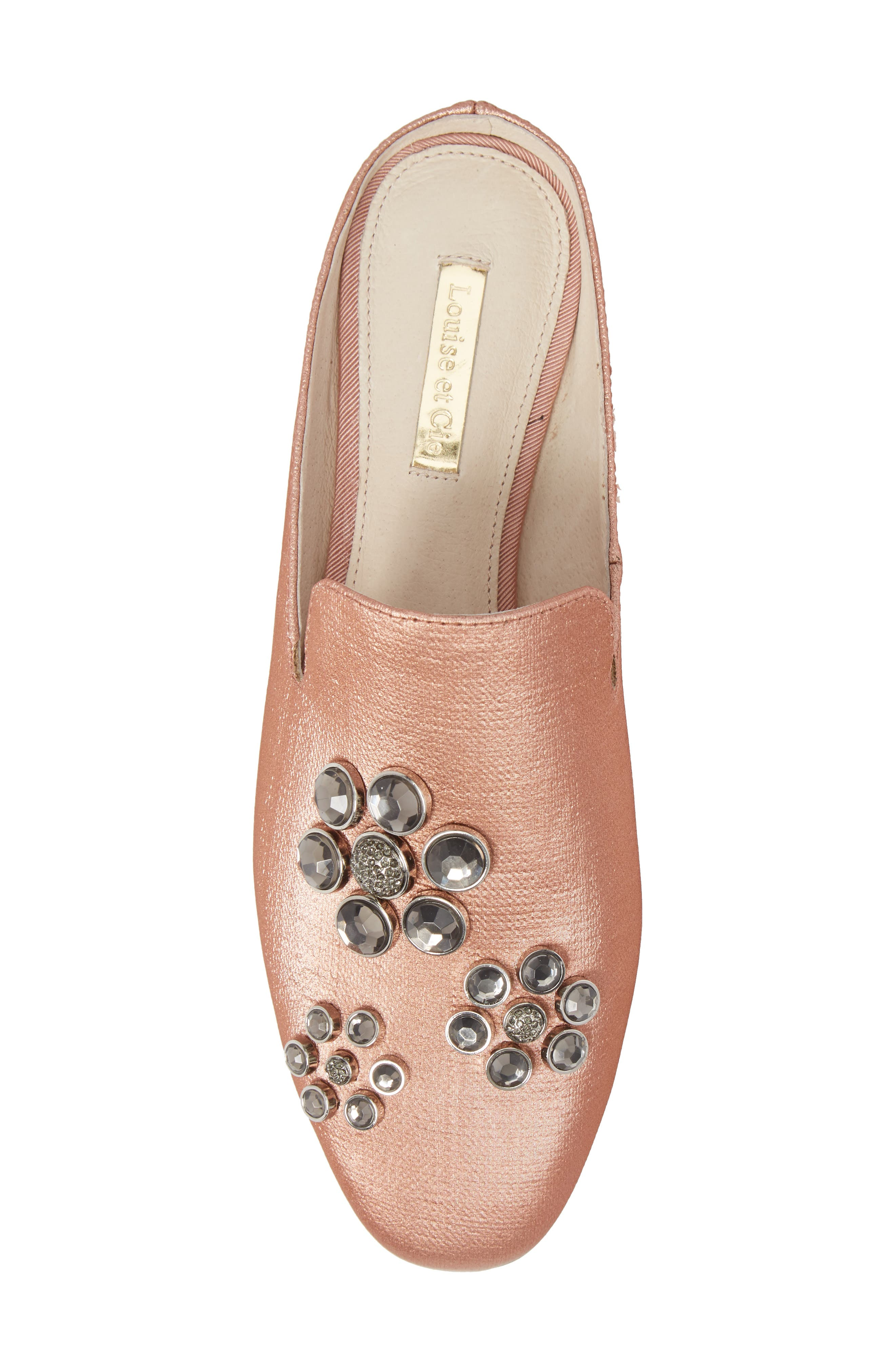 Felix II Crystal Flower Loafer Mule,                             Alternate thumbnail 20, color,