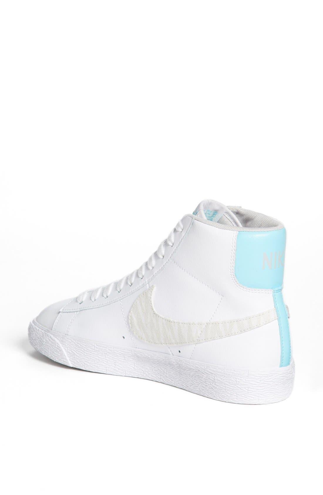 'Blazer' Mid Leather Sneaker,                             Alternate thumbnail 2, color,                             103