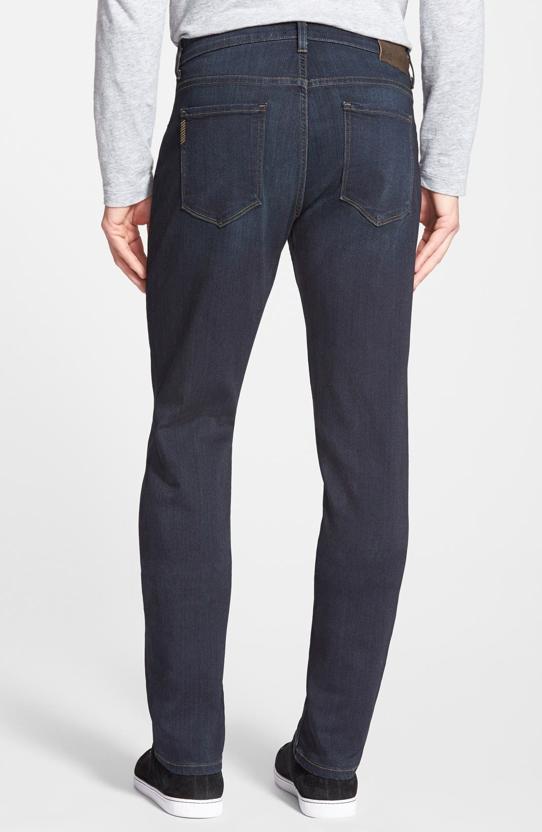 Transcend - Federal XL Slim Straight Leg Jeans,                             Alternate thumbnail 2, color,                             CELLAR/ CELLAR