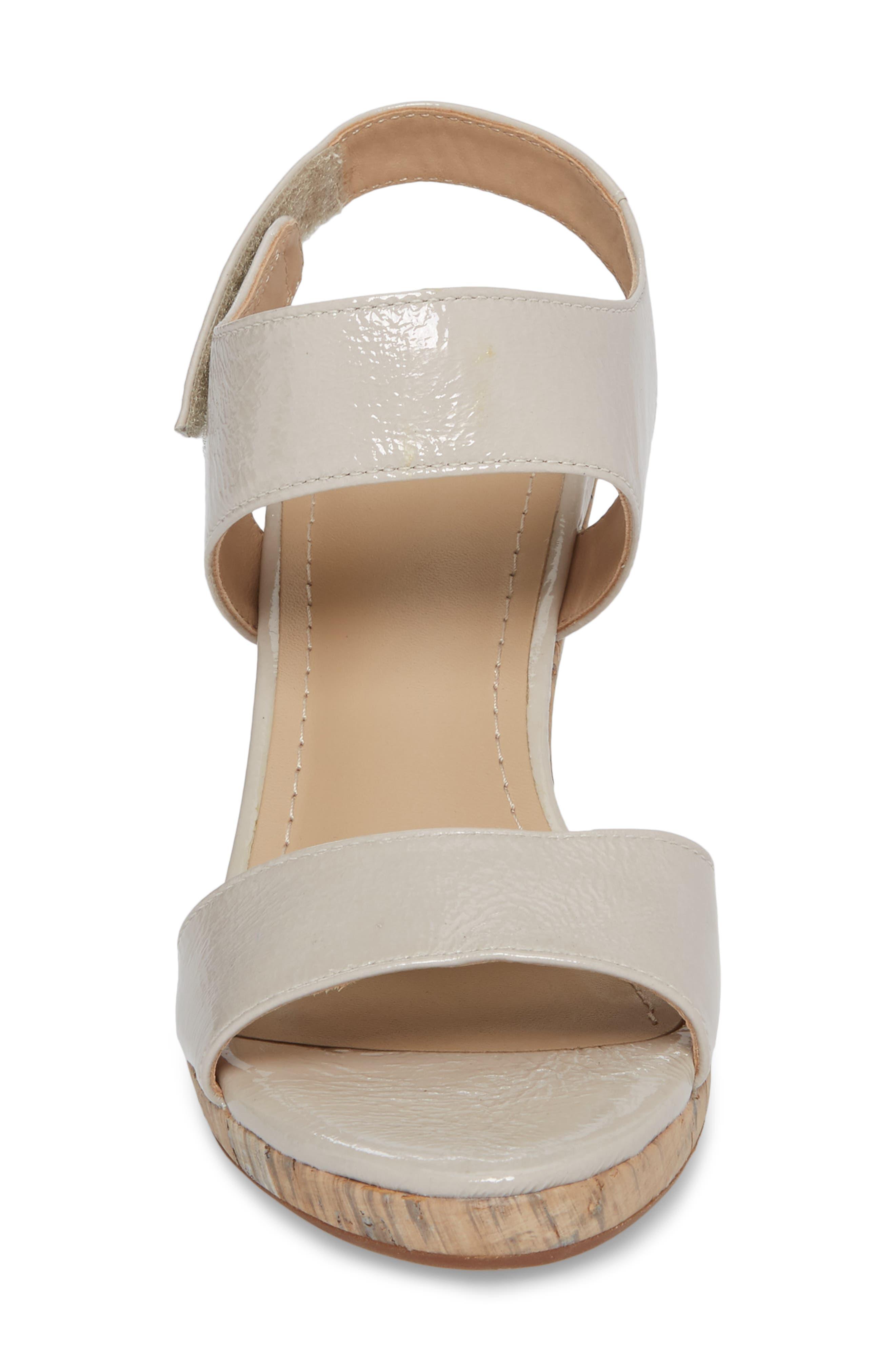 Glenna Wedge Sandal,                             Alternate thumbnail 8, color,