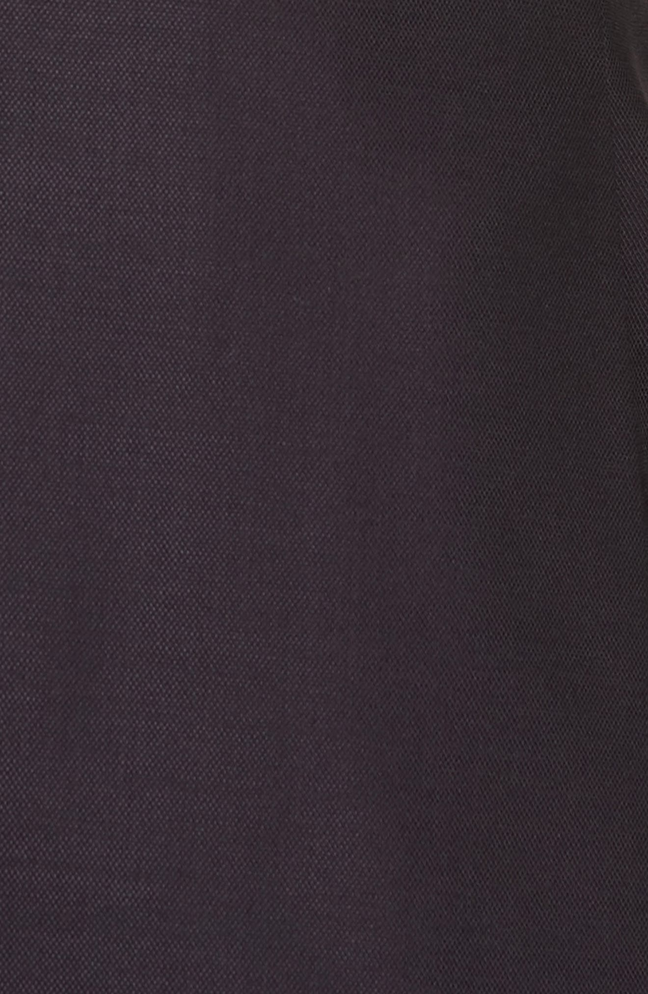 Roger Extra Trim Fit Solid Wool Suit,                             Alternate thumbnail 7, color,                             DEEP EGGPLANT