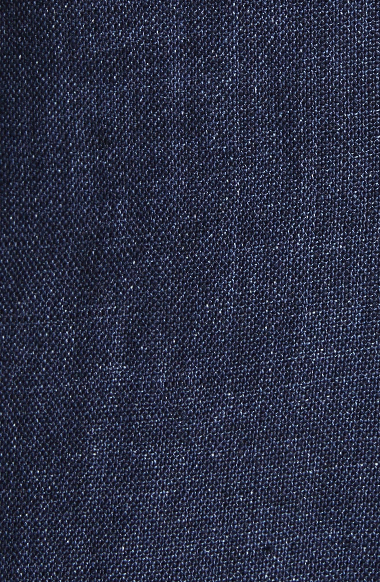 Linen Shift Dress,                             Alternate thumbnail 10, color,