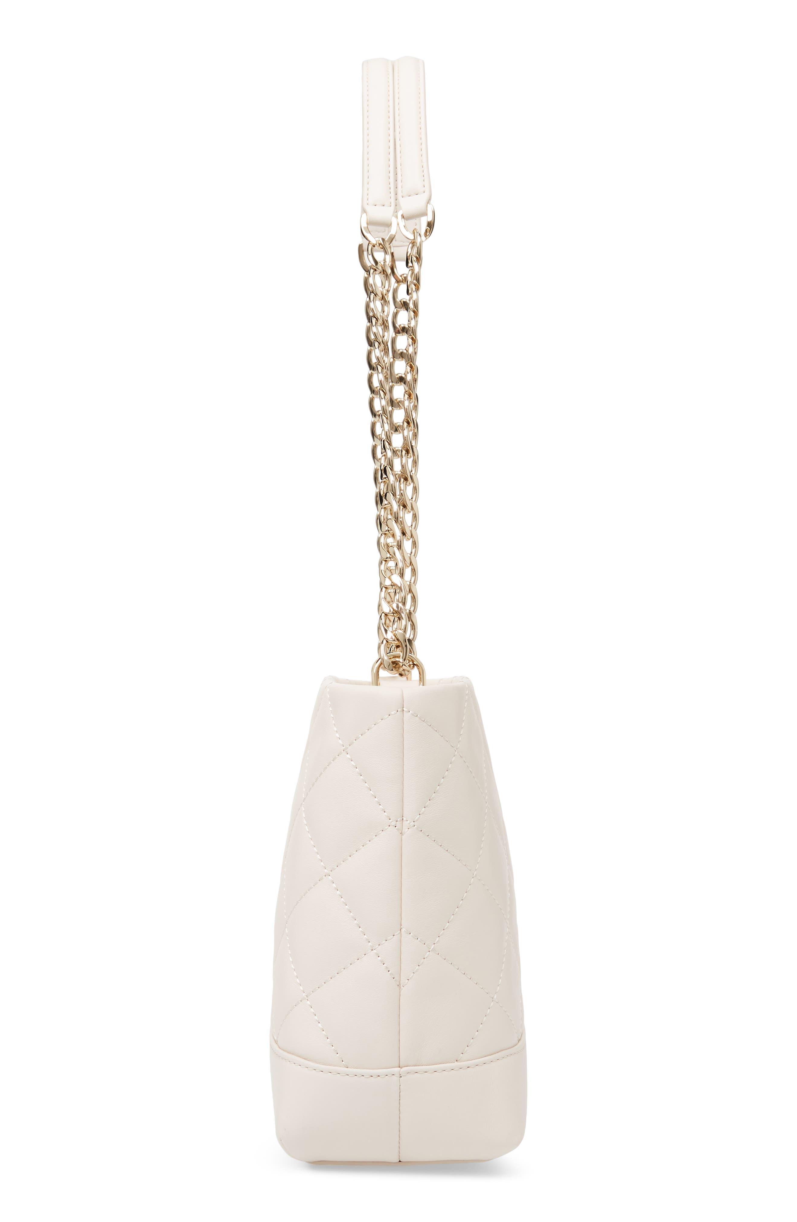 emerson place lorie quilted leather shoulder bag,                             Alternate thumbnail 5, color,                             BLEACH BONE