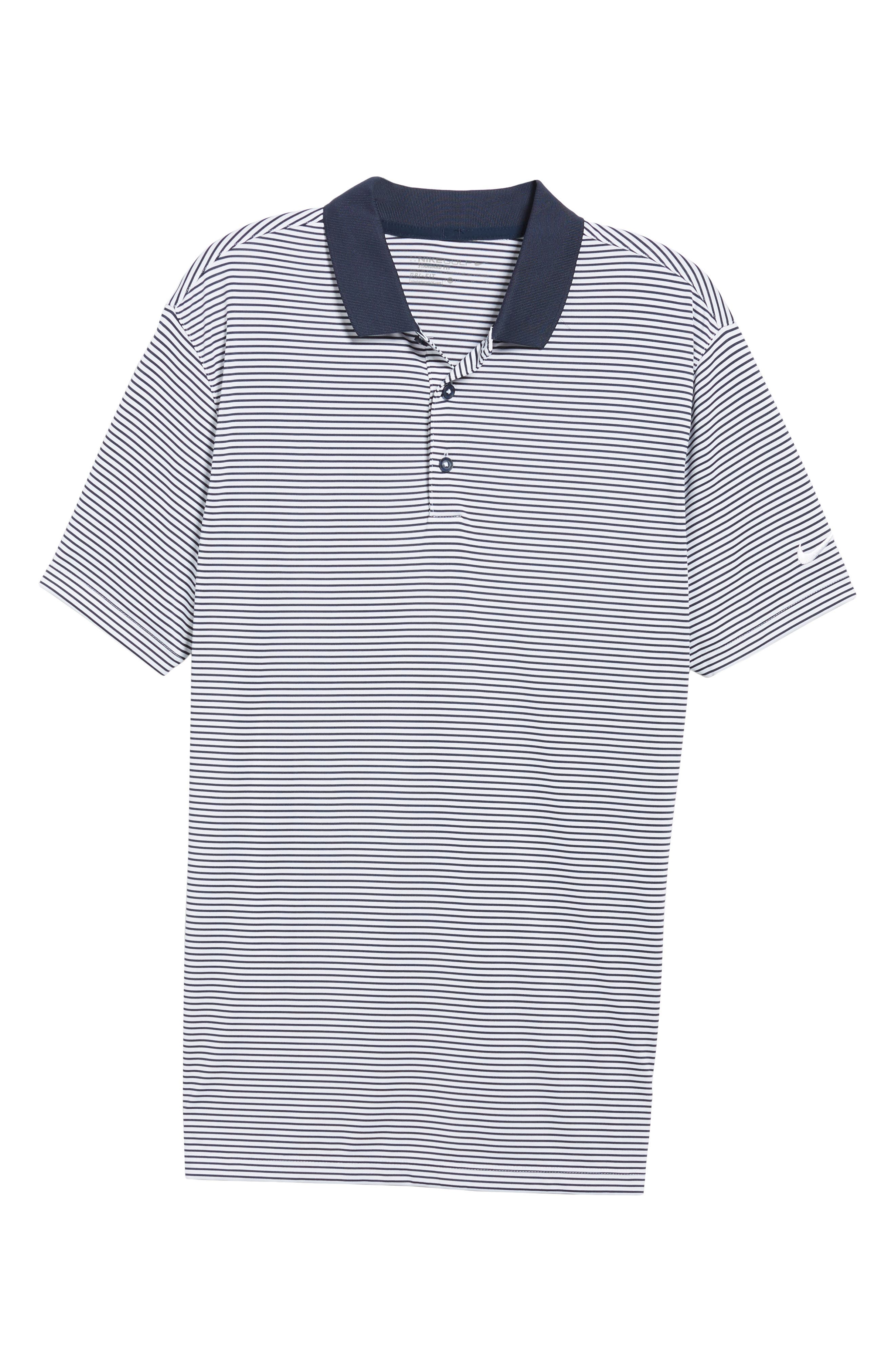 'Victory Stripe' Dri-FIT Golf Polo,                             Alternate thumbnail 10, color,