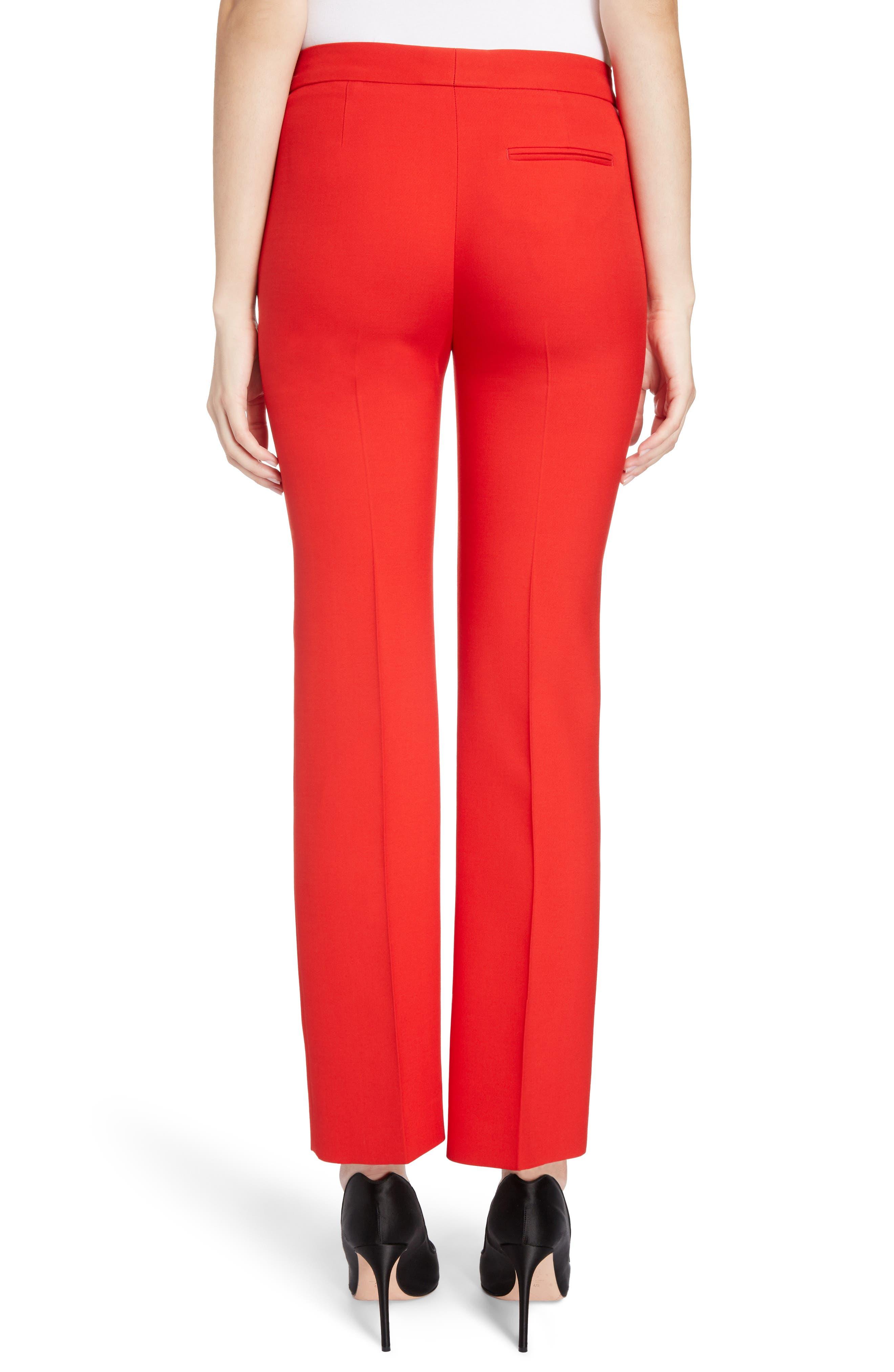Wool & Silk Blend Pants,                             Alternate thumbnail 2, color,