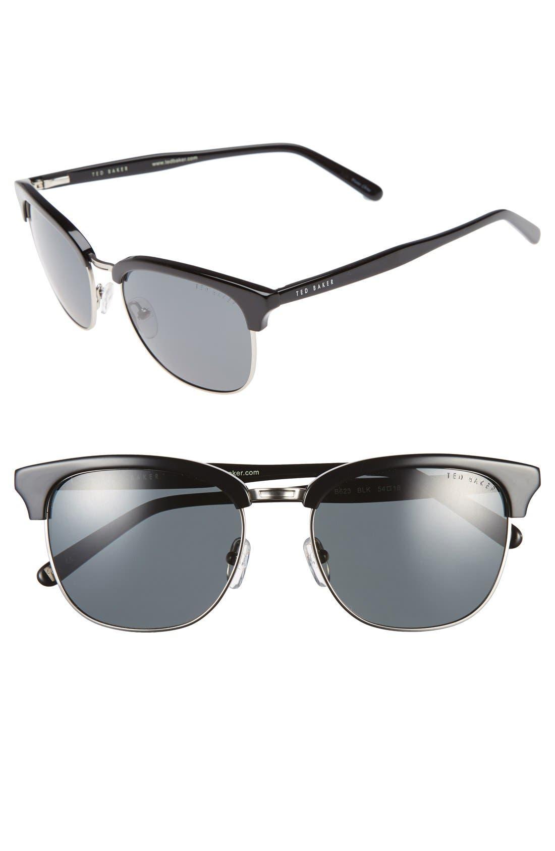 54mm Polarized Sunglasses,                         Main,                         color, 001