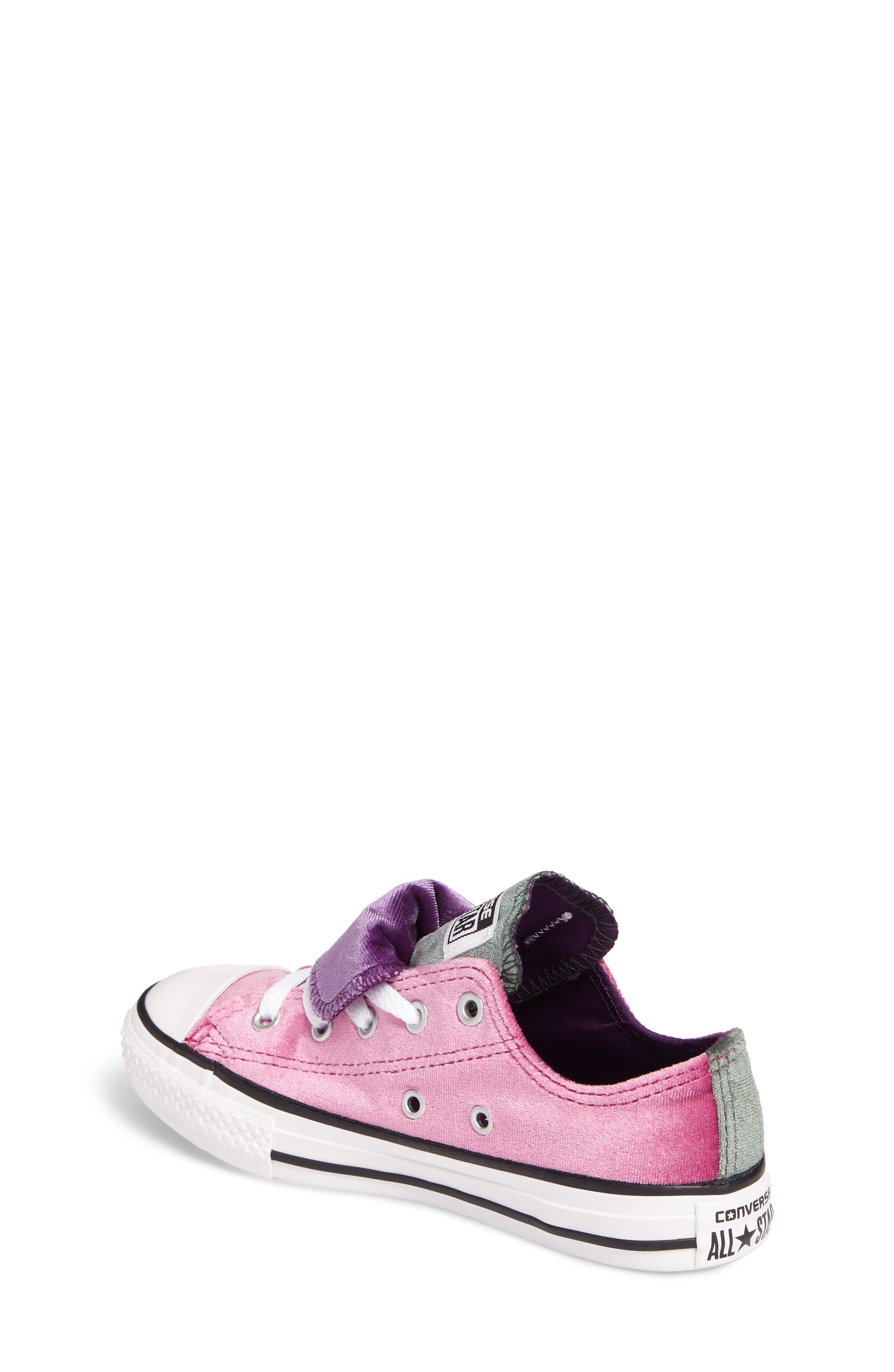 All Star<sup>®</sup> Velvet Double Tongue Sneaker,                             Alternate thumbnail 2, color,