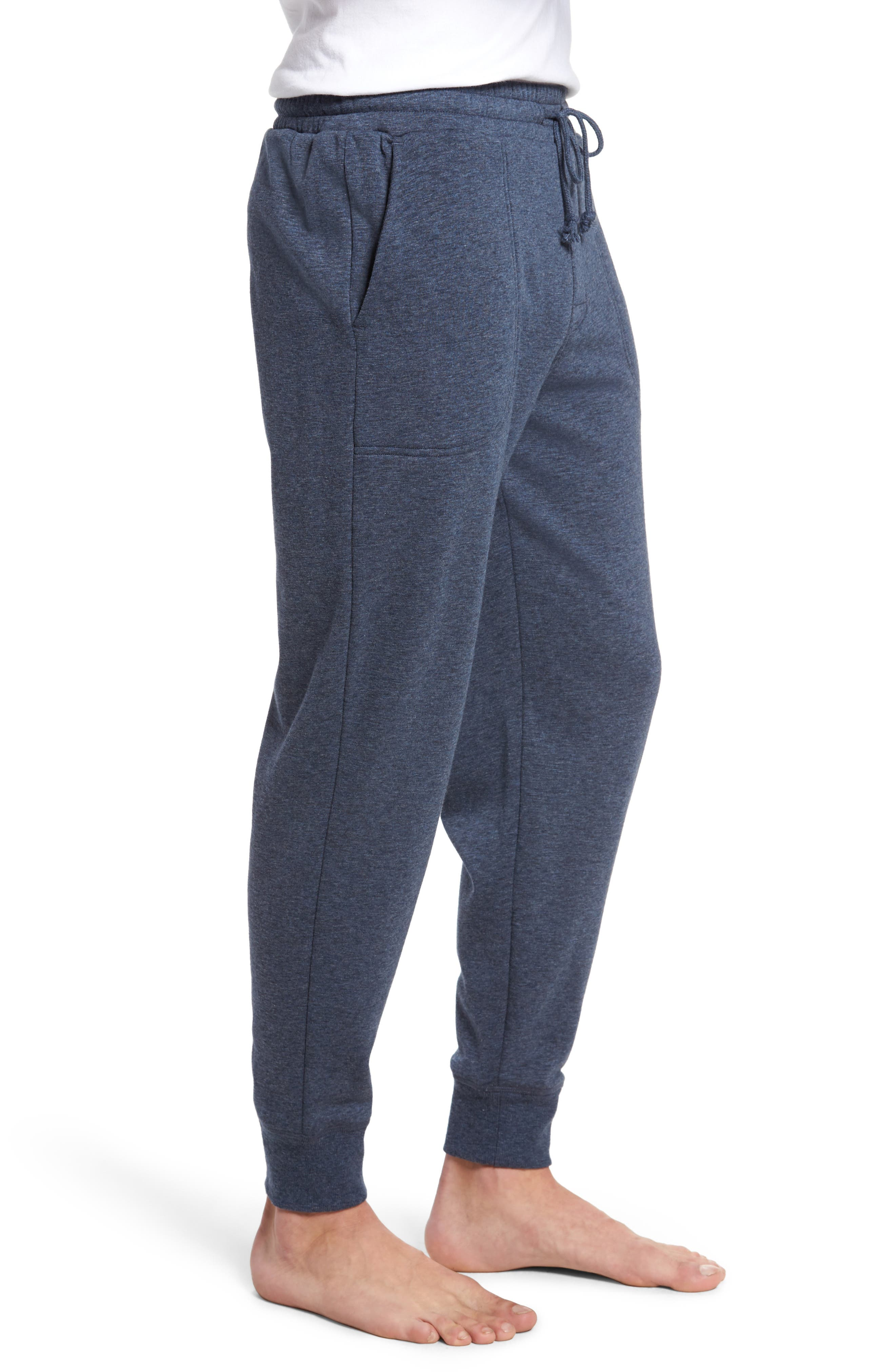 French Terry Pajama Pants,                             Alternate thumbnail 8, color,