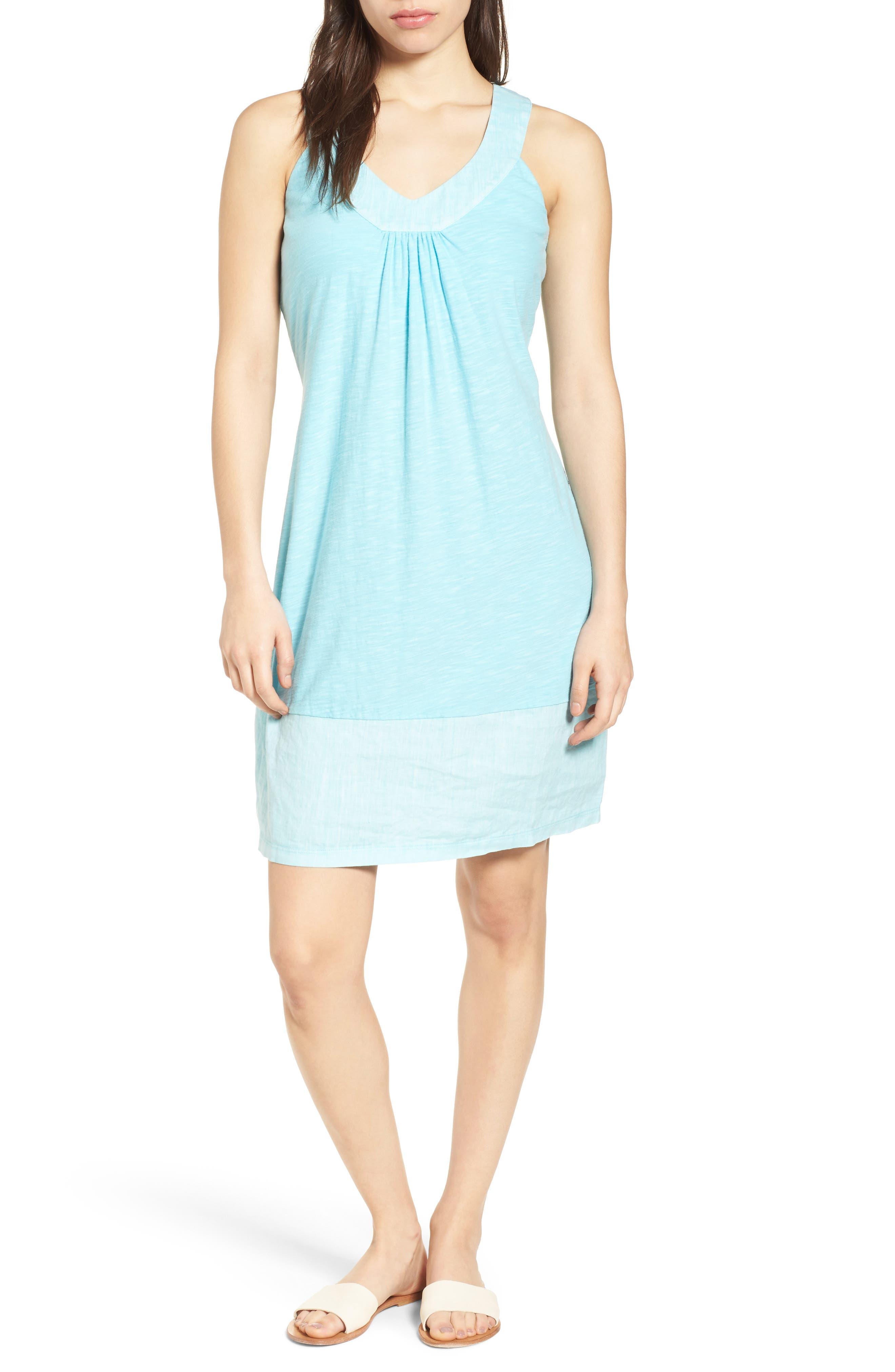 Arden Shift Dress,                         Main,                         color, BLUE RADIANCE