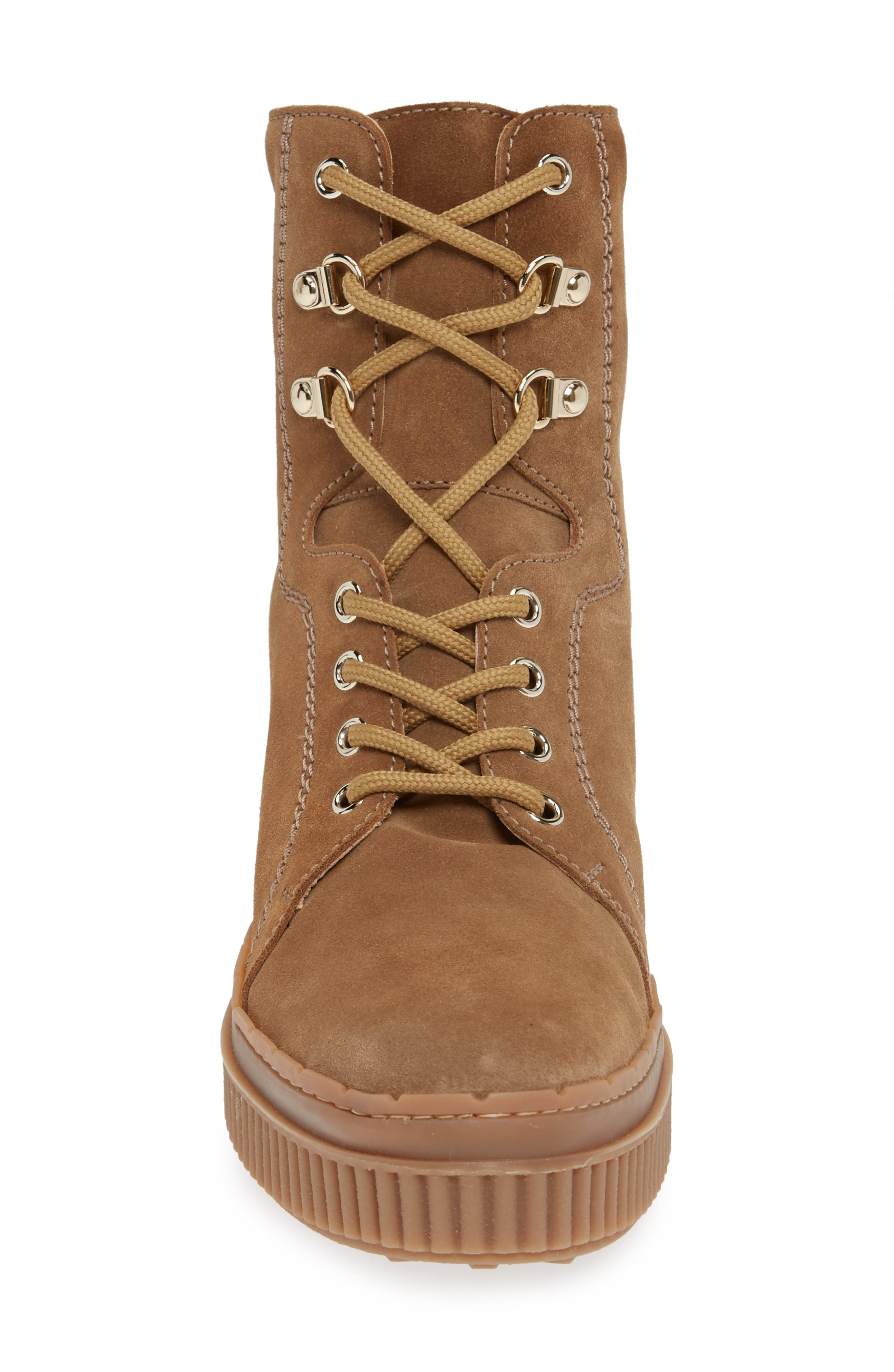 Hiking Boot,                             Alternate thumbnail 4, color,                             BEIGE