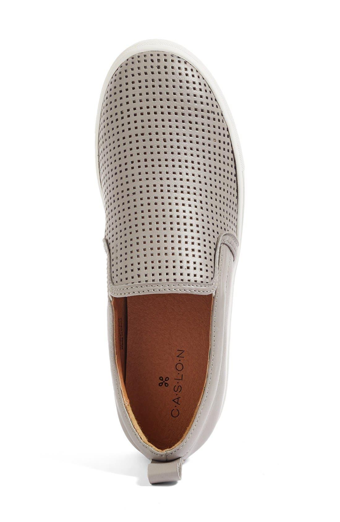 Eden Perforated Slip-On Sneaker,                             Alternate thumbnail 15, color,