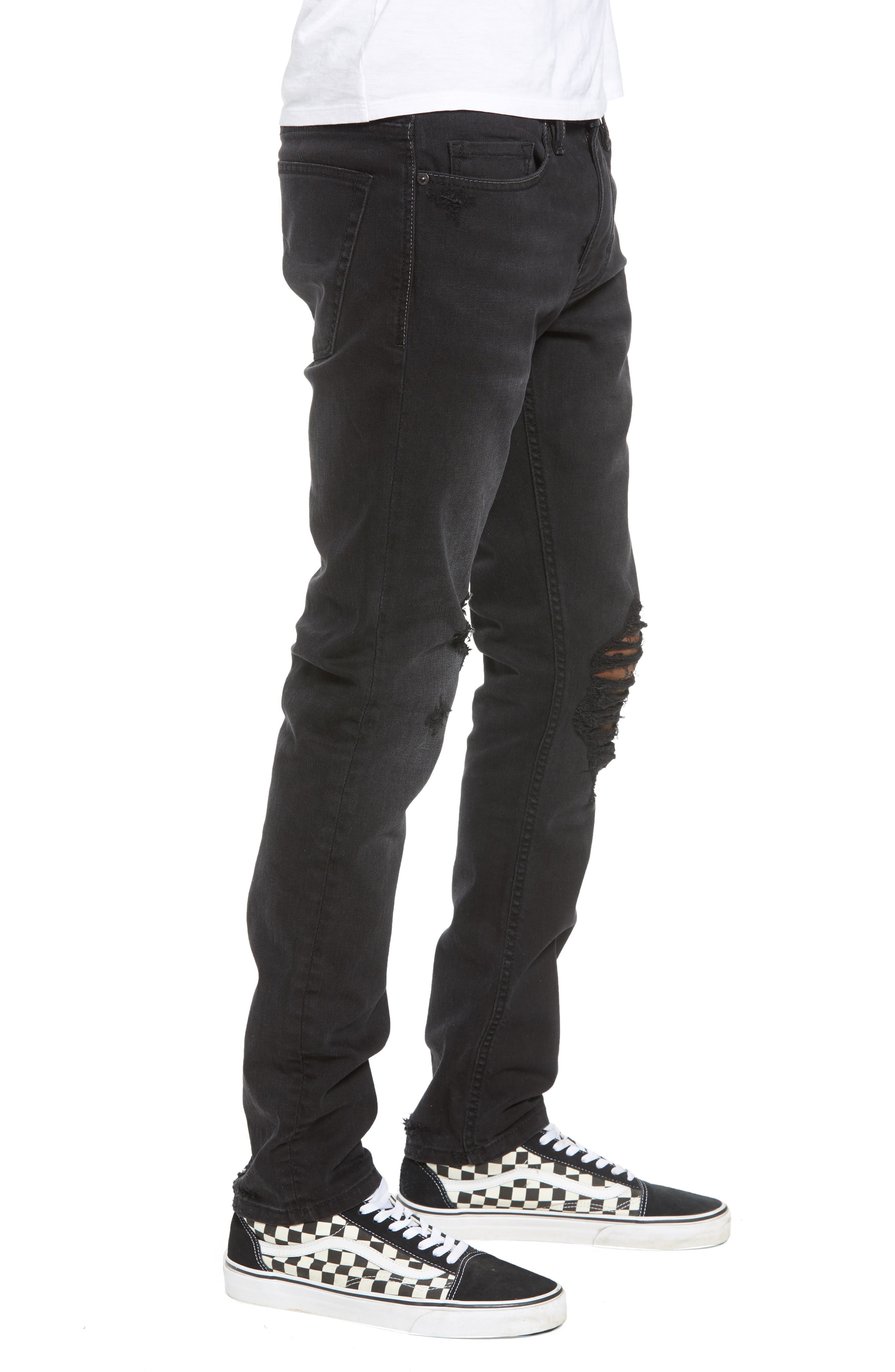 Wooster Slim Fit Jeans,                             Alternate thumbnail 3, color,                             WILLING BOUNDARY