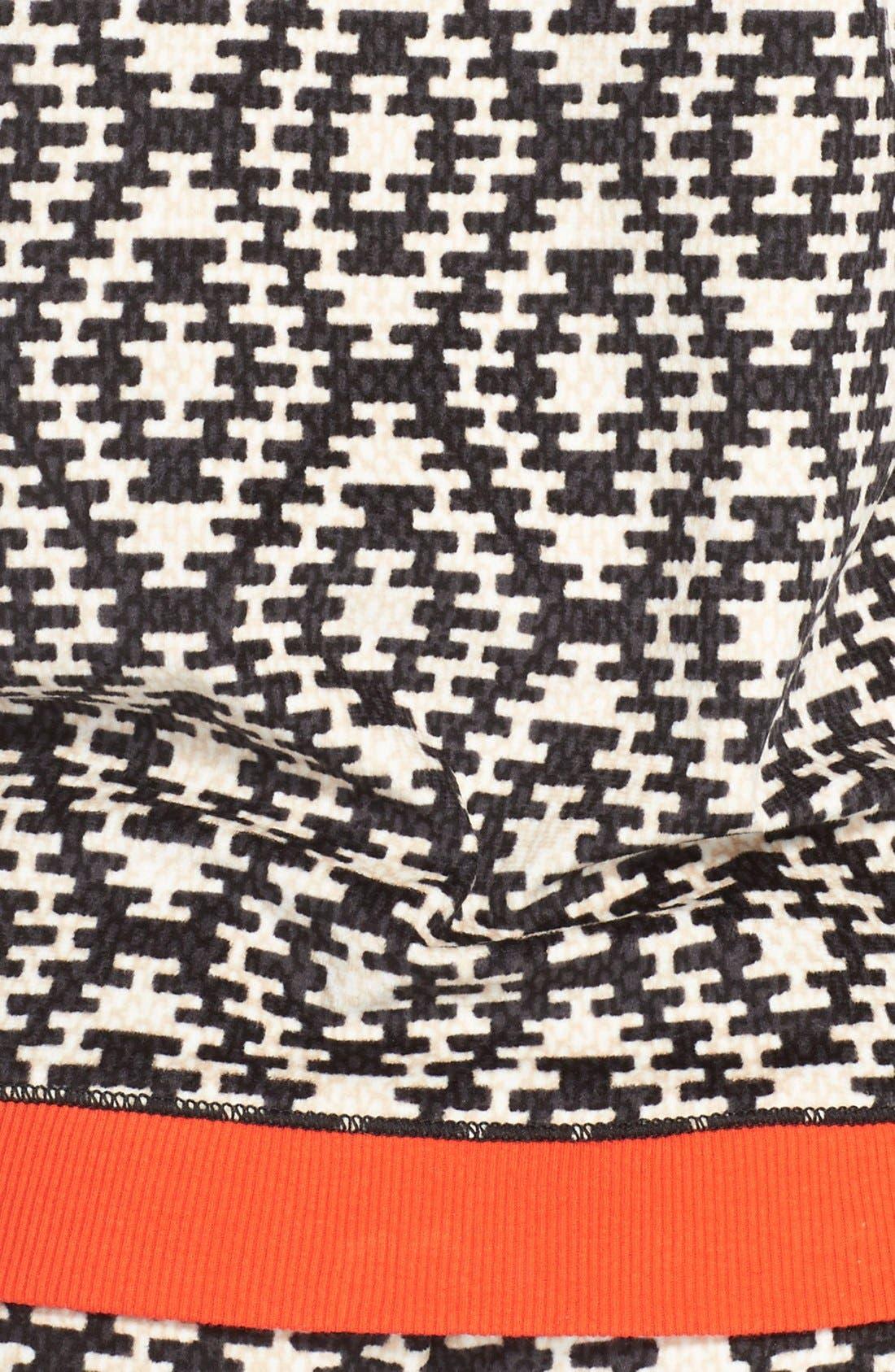 KENSIE,                             'ArcticChill' Knit Pajamas,                             Alternate thumbnail 3, color,                             015