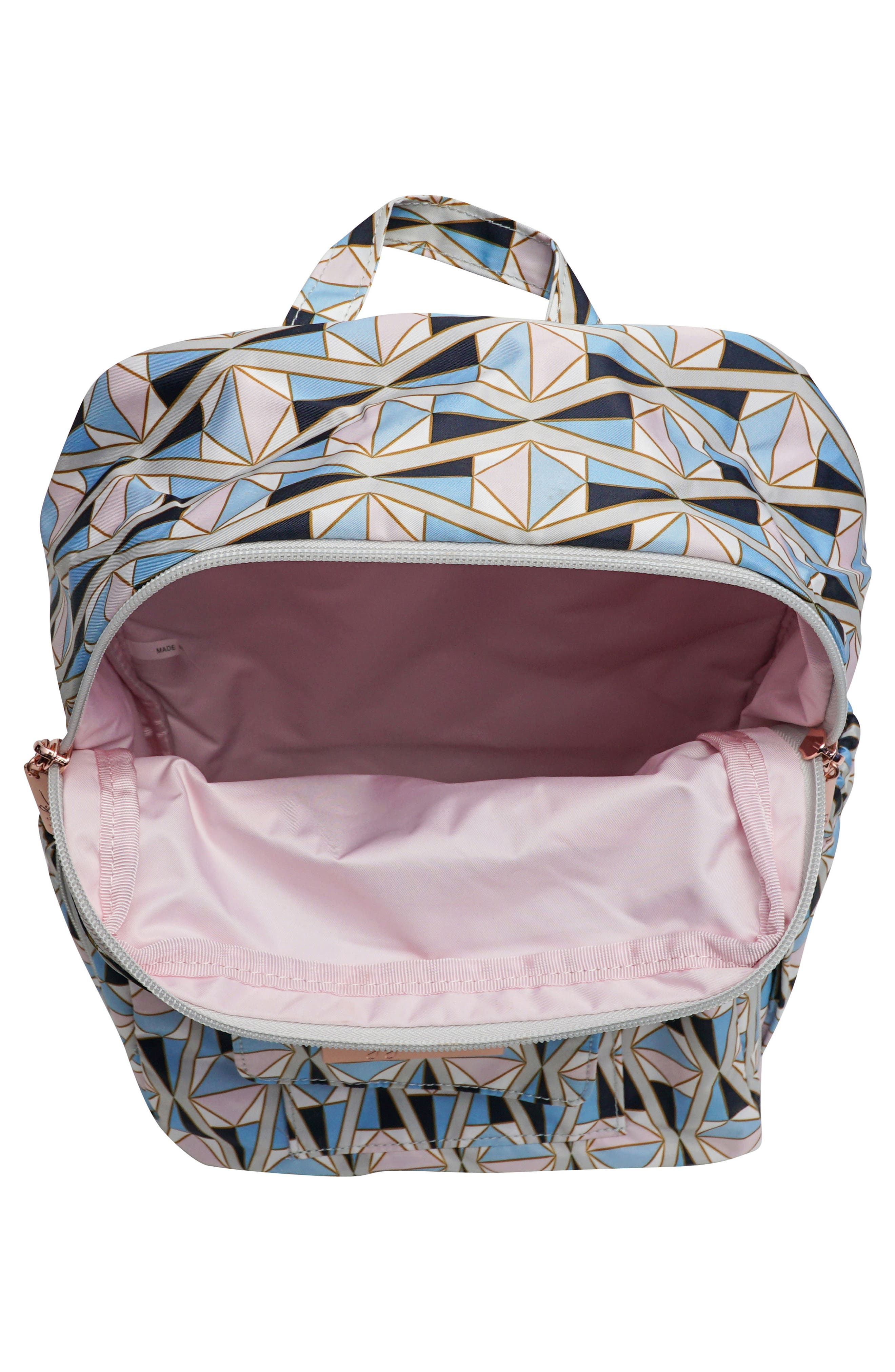 MiniBe Rose Backpack,                             Alternate thumbnail 7, color,
