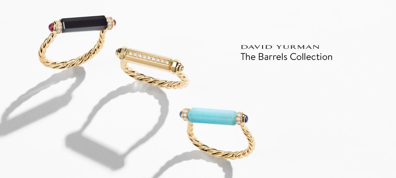 David Yurman: the Barrels Collection.
