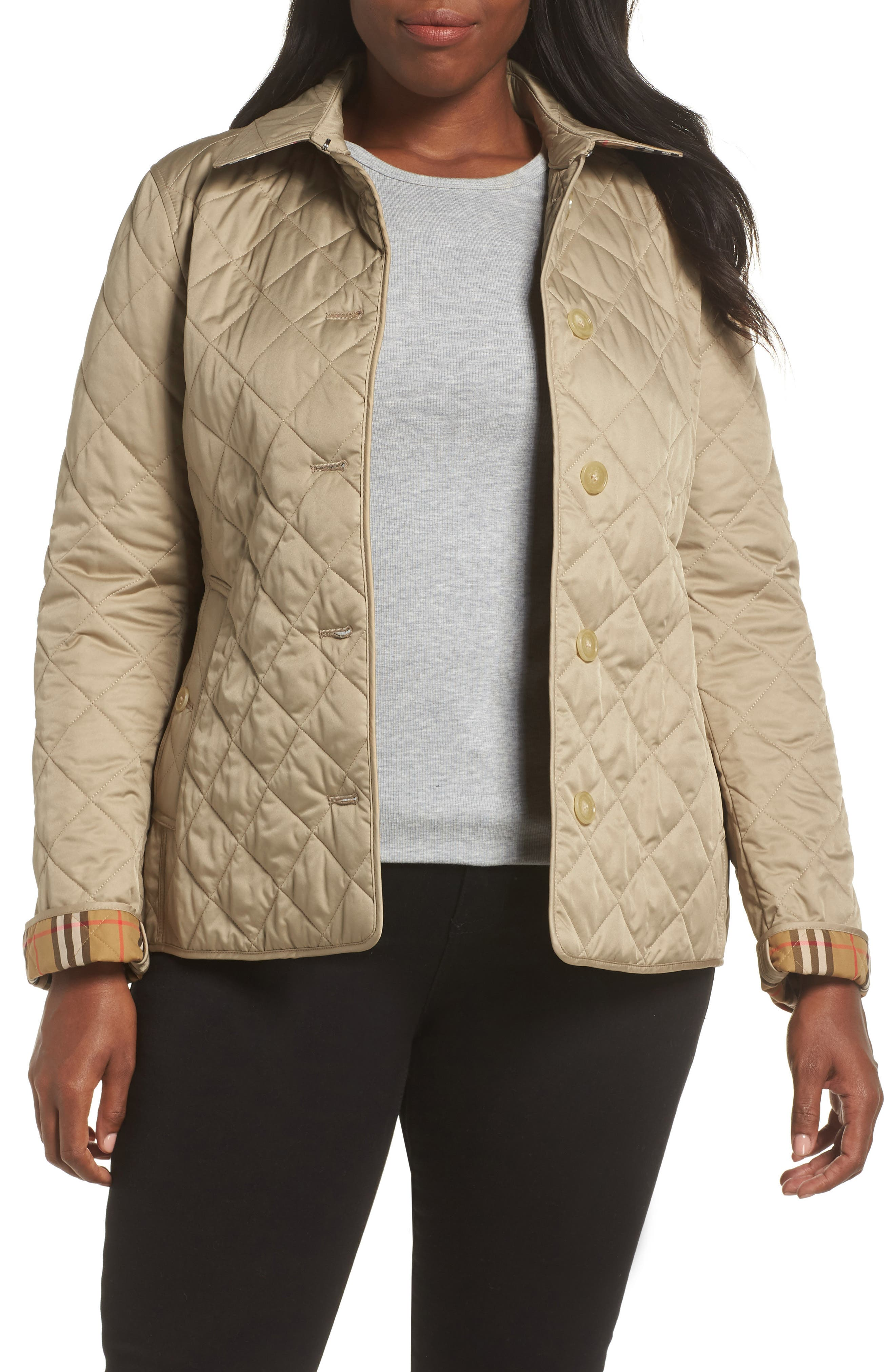 Frankby 18 Quilted Jacket,                             Alternate thumbnail 2, color,                             CANVAS