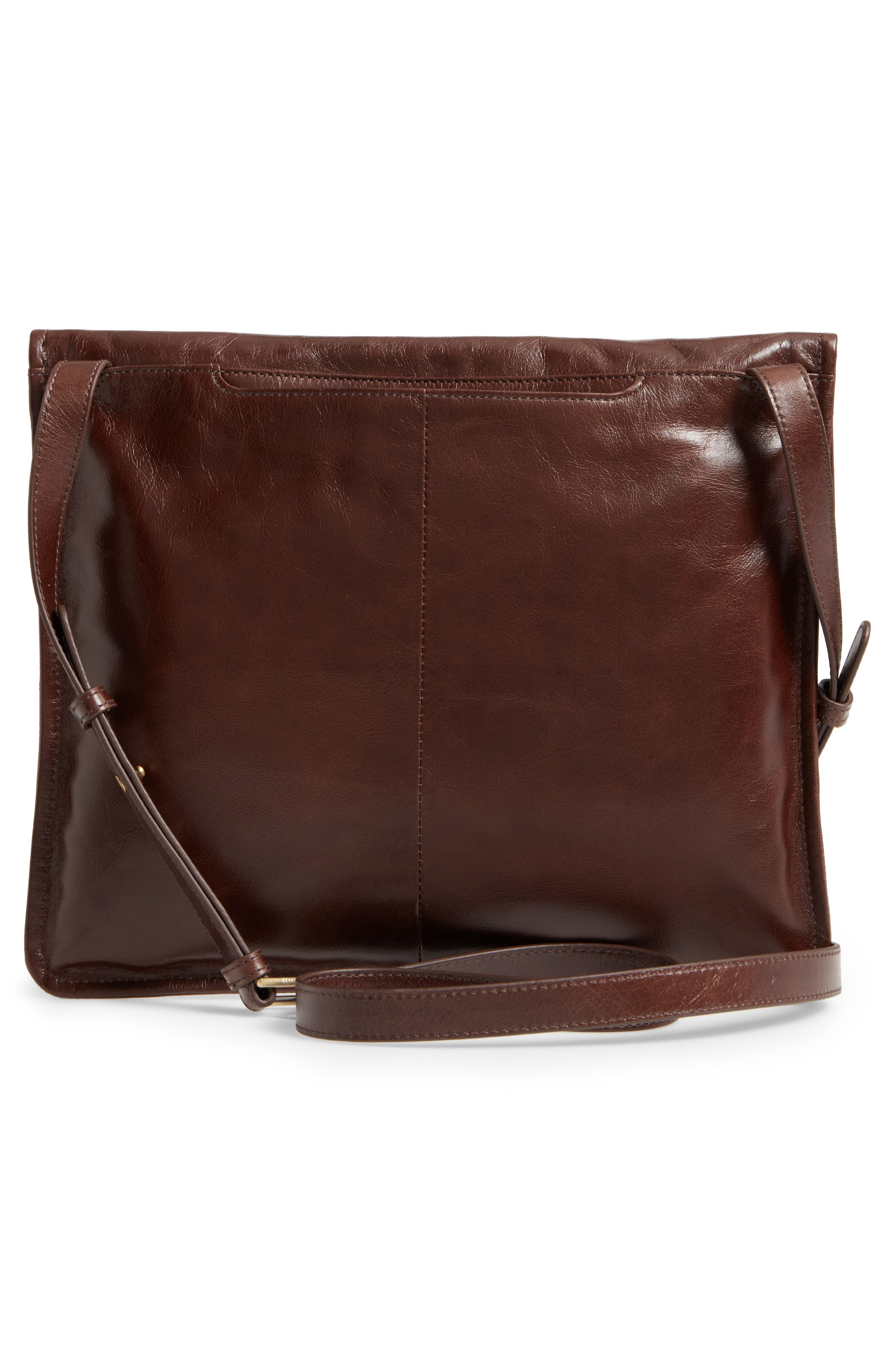 Vista Calfskin Leather Messenger Bag,                             Alternate thumbnail 11, color,