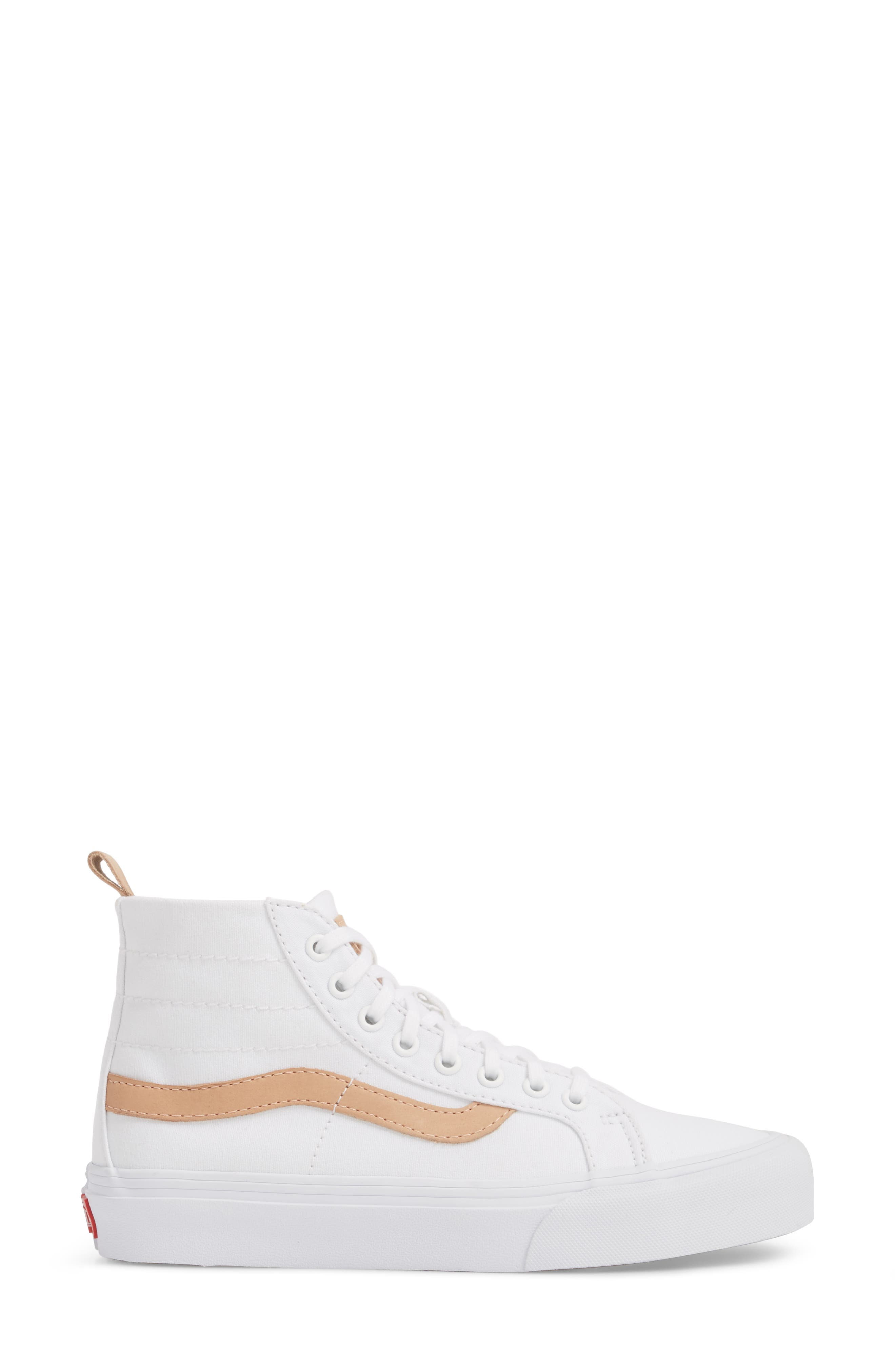 x Leila Hurst Sk8-Hi Decon SF Sneaker,                             Alternate thumbnail 3, color,                             100