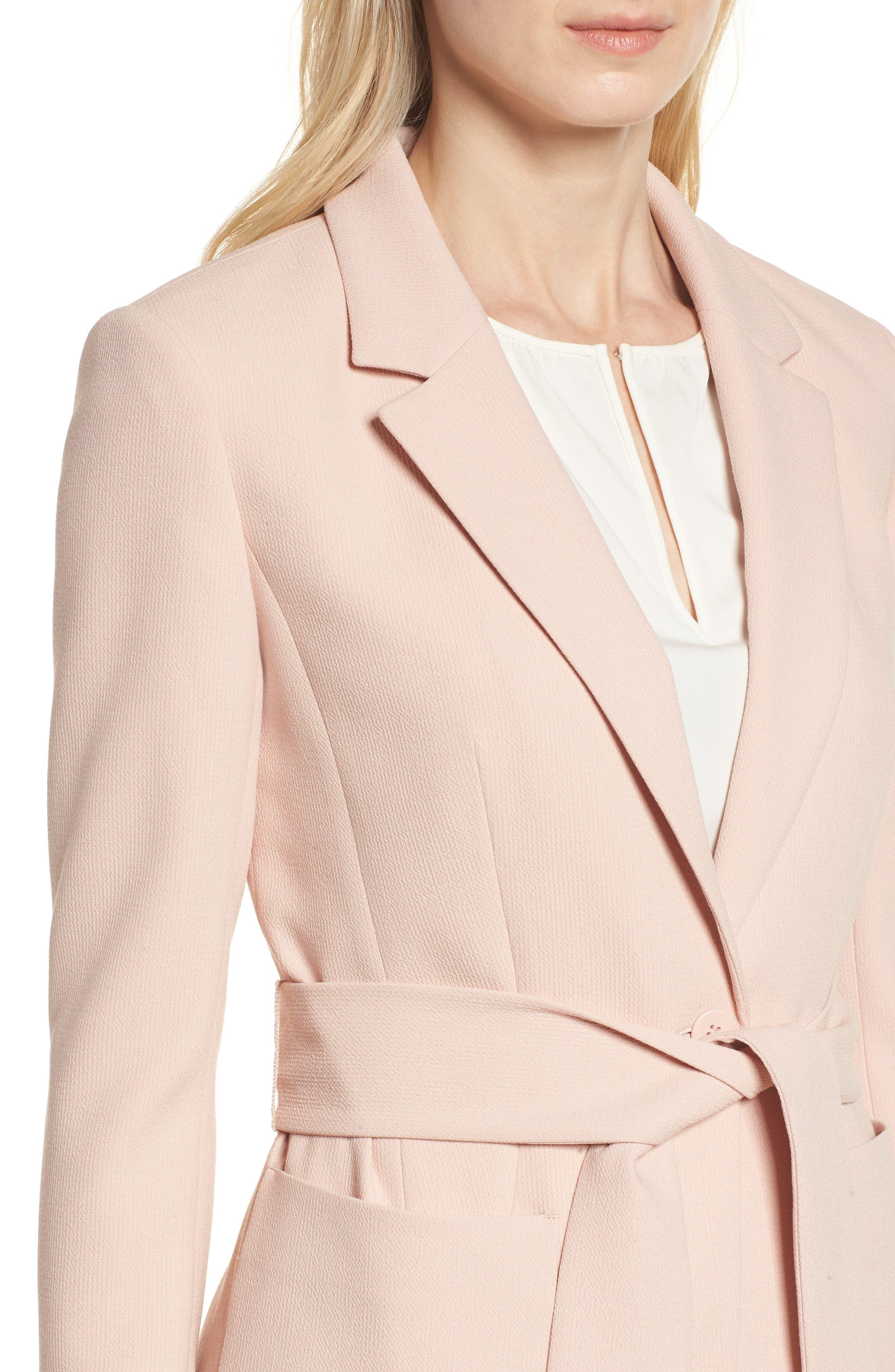 Tie Waist Suit Jacket,                             Alternate thumbnail 4, color,                             680