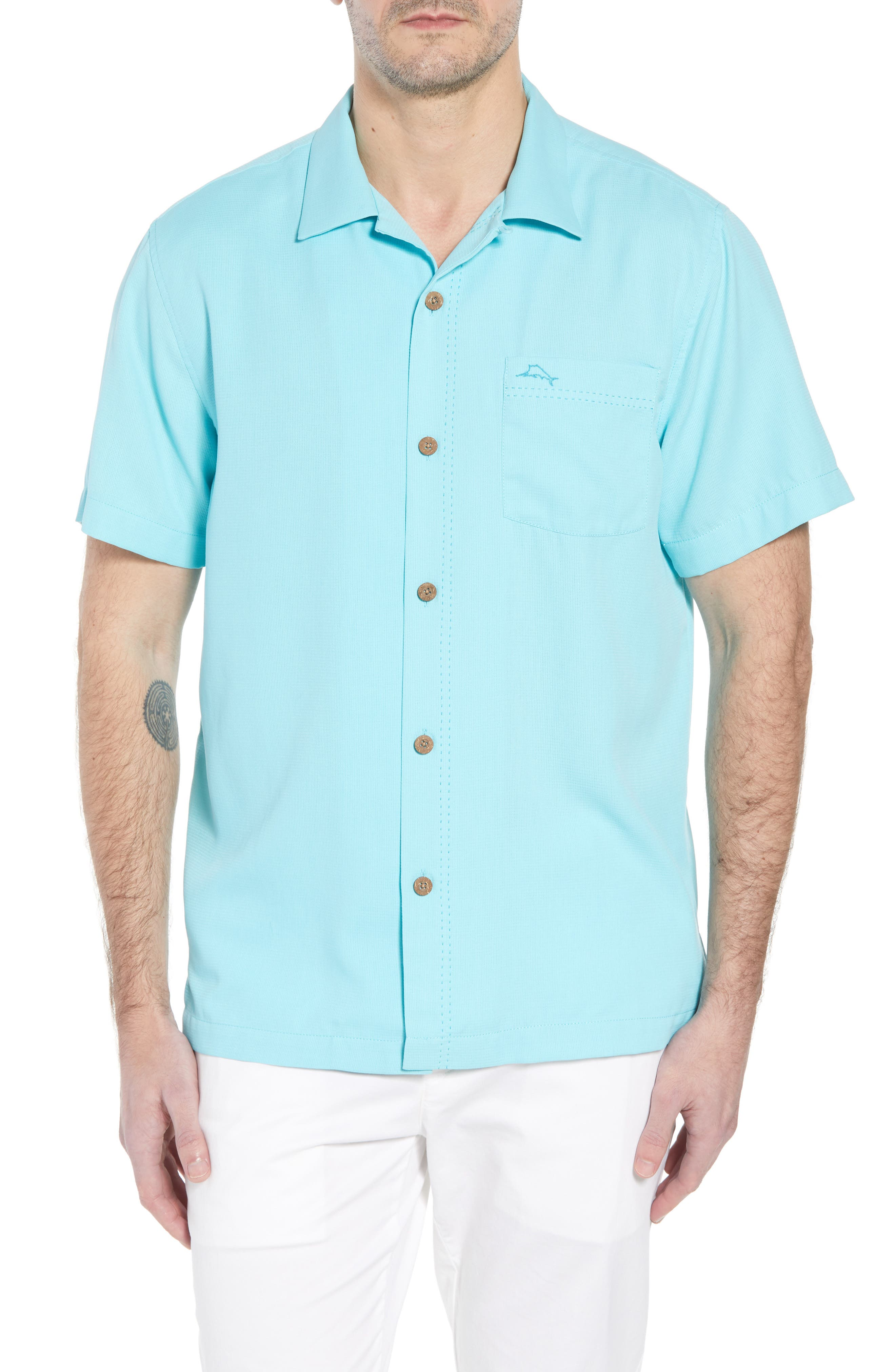 The Salvatore Standard Fit Sport Shirt,                         Main,                         color, 400