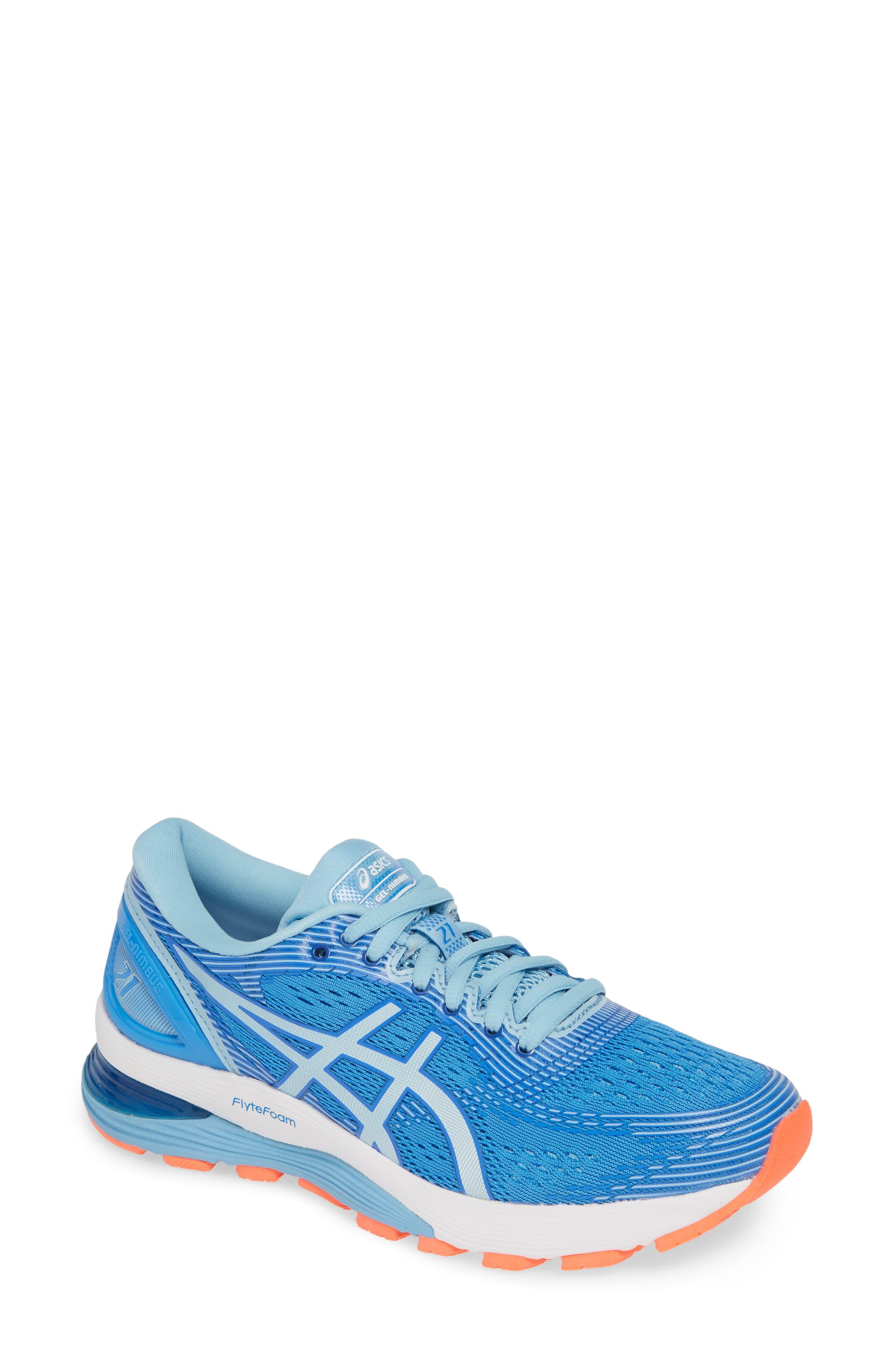Asics Gel-Nimbus 21 Running Shoe B - Blue