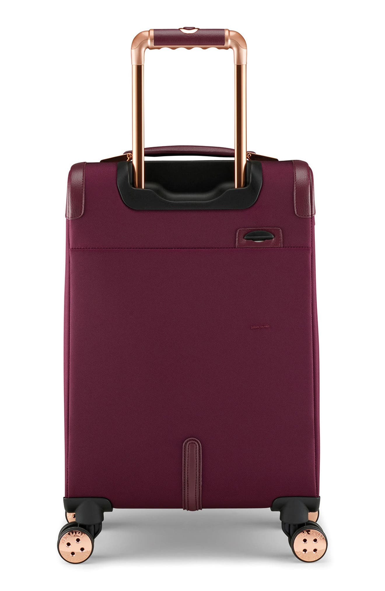 22-Inch Spinner Trolley Packing Case,                             Alternate thumbnail 4, color,                             BURGUNDY