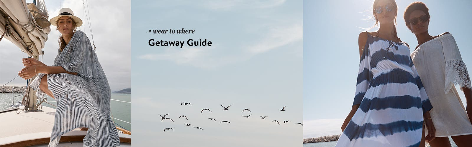 Vacation getaway guide.