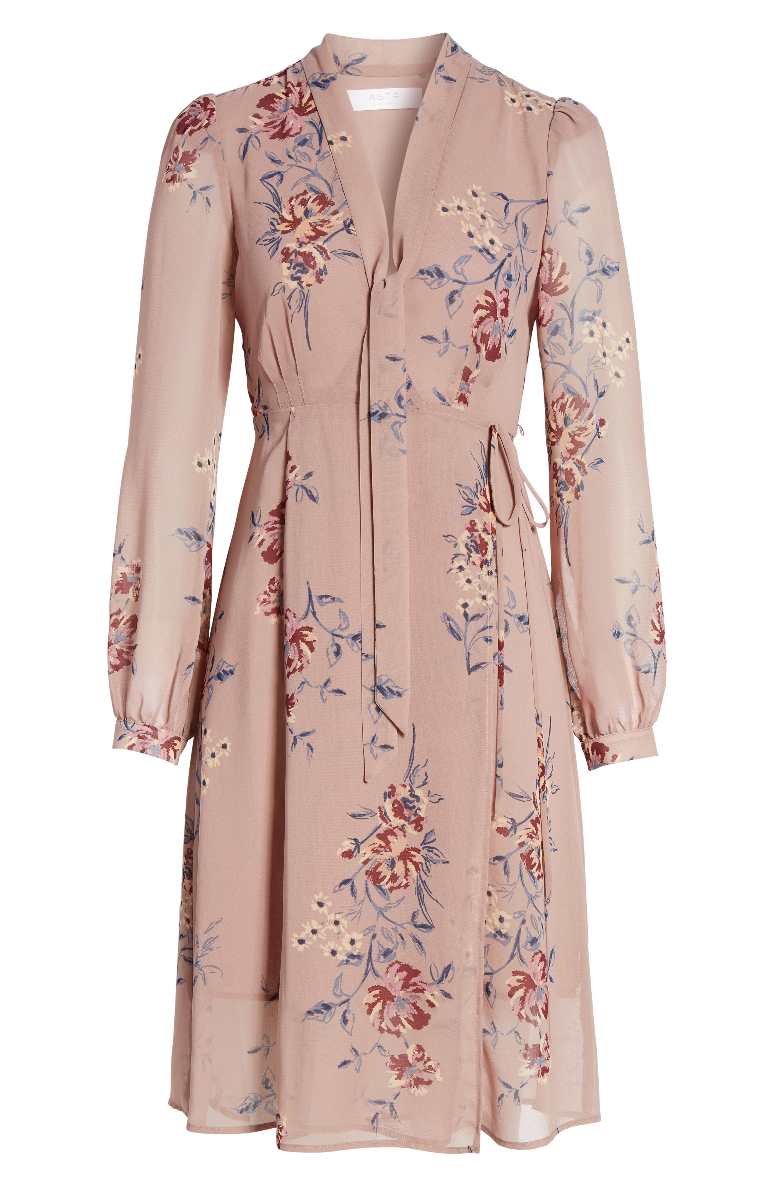 Tyra A-Line Dress,                             Alternate thumbnail 12, color,