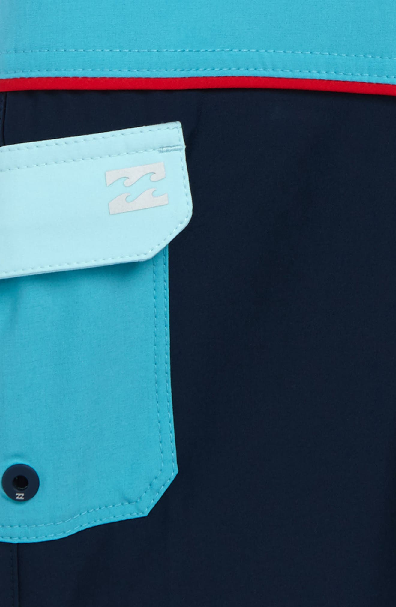 Tribong X Board Shorts,                             Alternate thumbnail 3, color,                             415