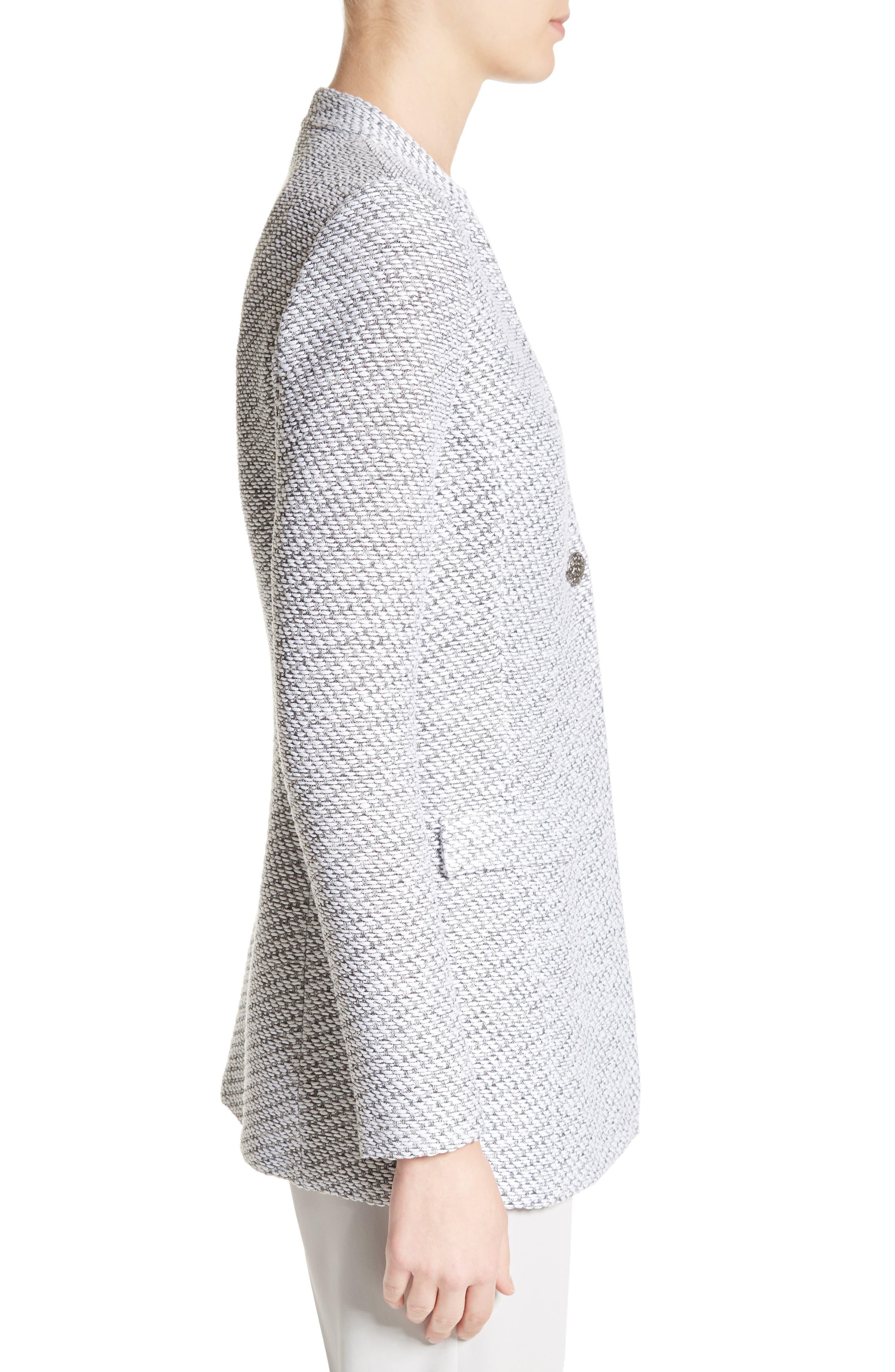 Gyan Knit Jacket,                             Alternate thumbnail 3, color,                             020