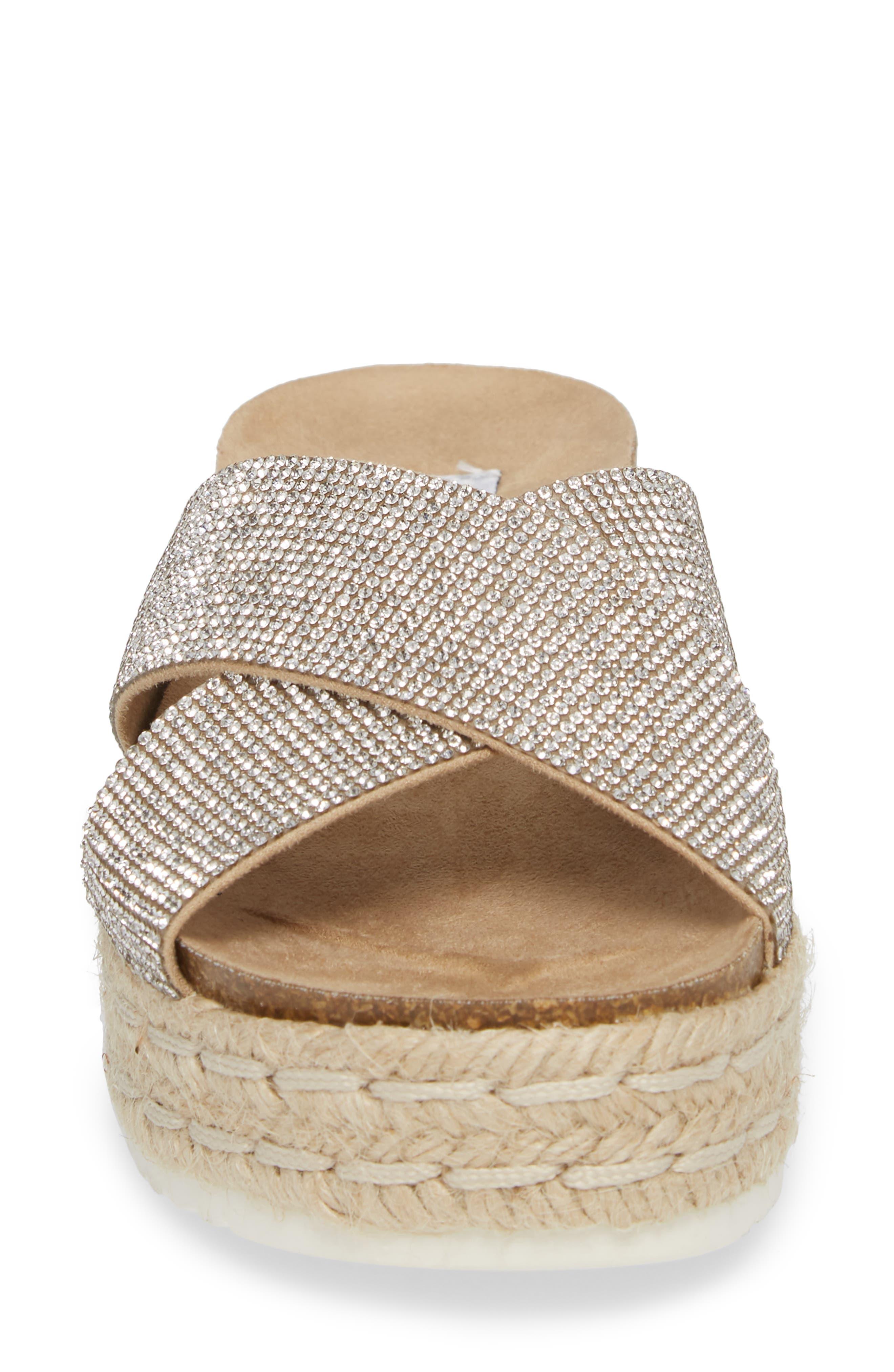 Arran-R Platform Espadrille Sandal,                             Alternate thumbnail 8, color,