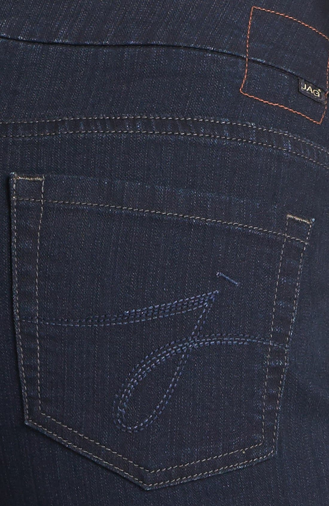 'Peri' Pull-On Straight Leg Jeans,                             Alternate thumbnail 3, color,                             402