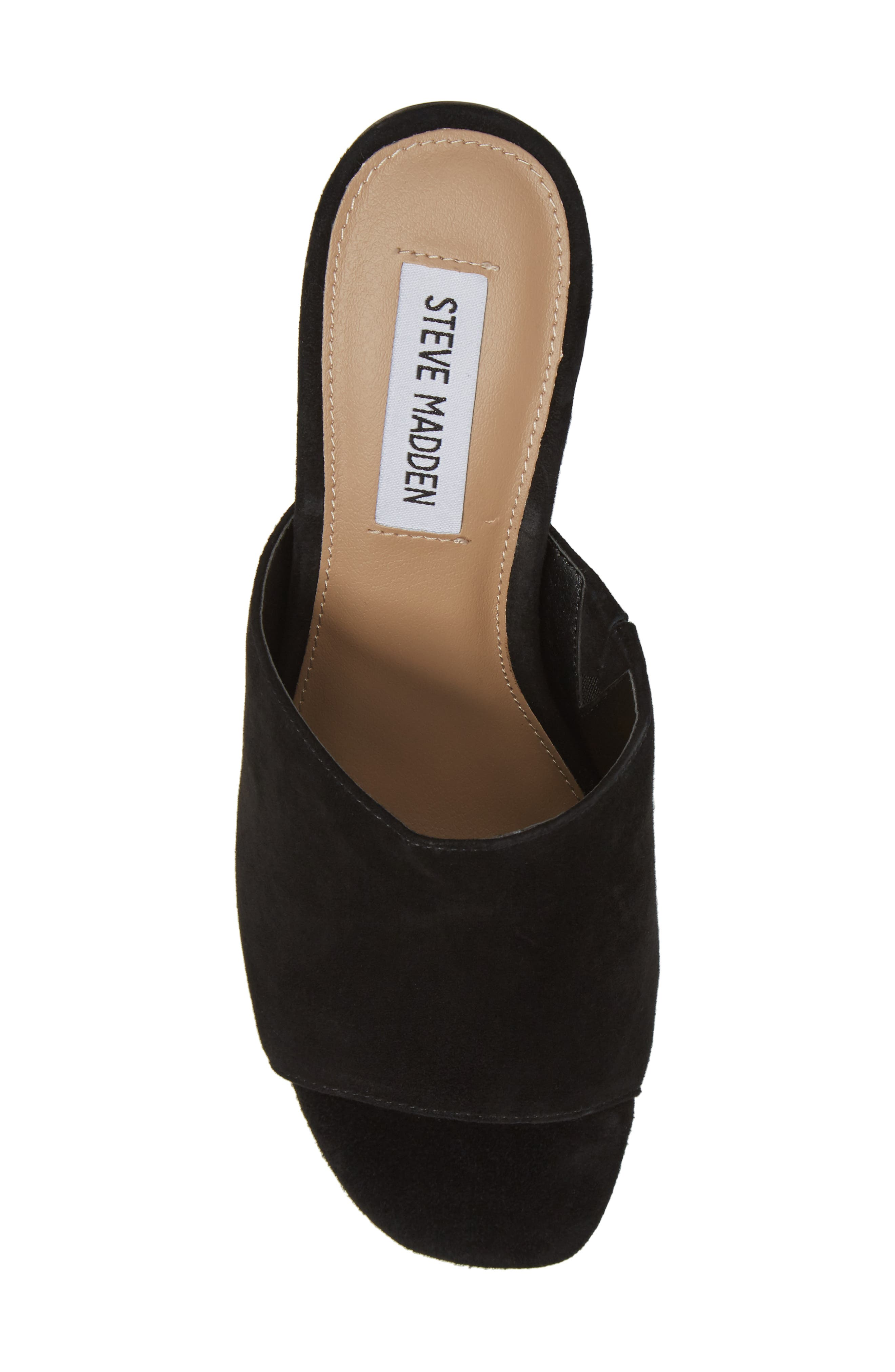 Dalis Clear Heel Slide Sandal,                             Alternate thumbnail 5, color,                             006