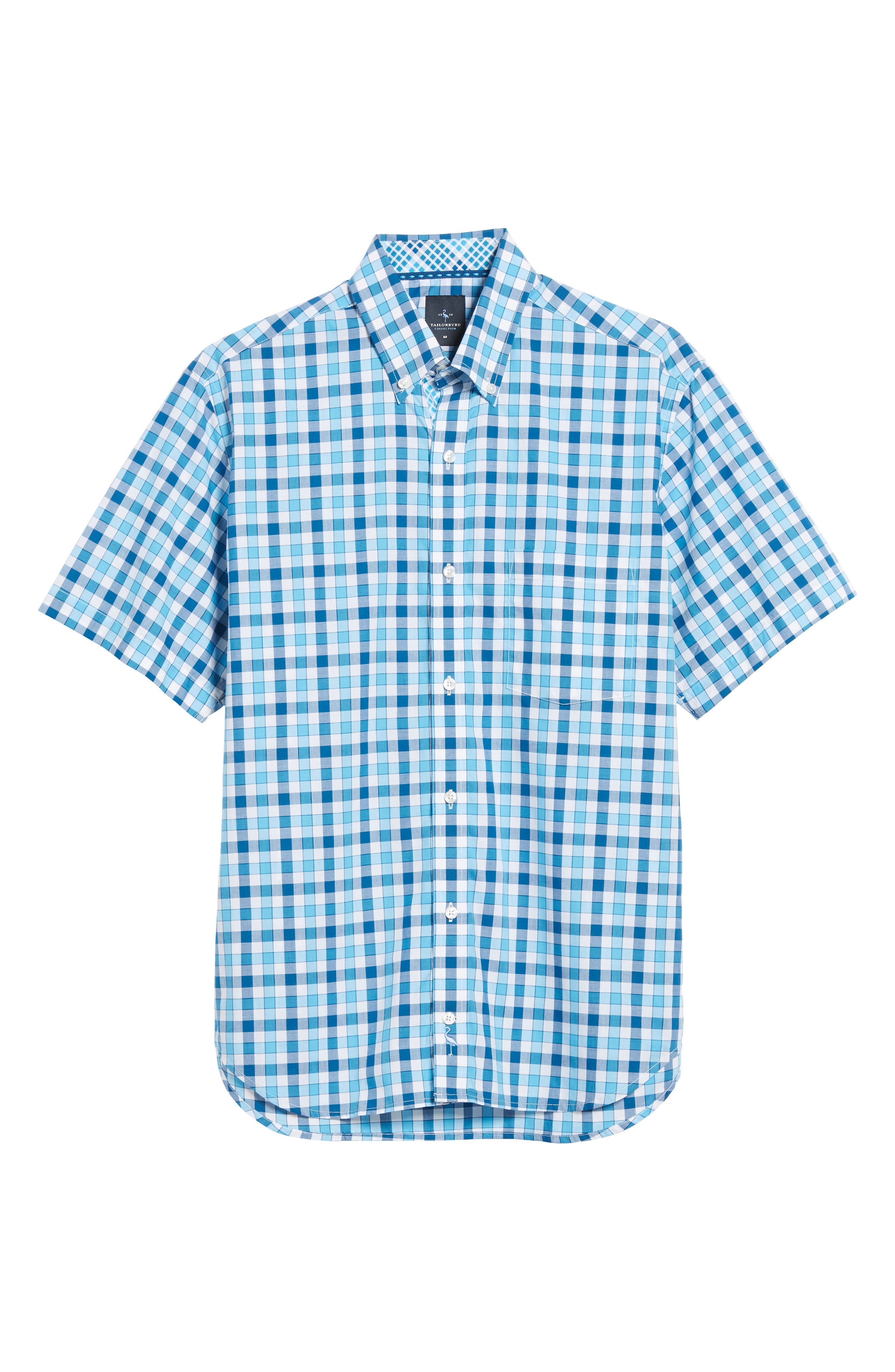 West We Go Regular Fit Plaid Sport Shirt,                             Alternate thumbnail 6, color,                             465