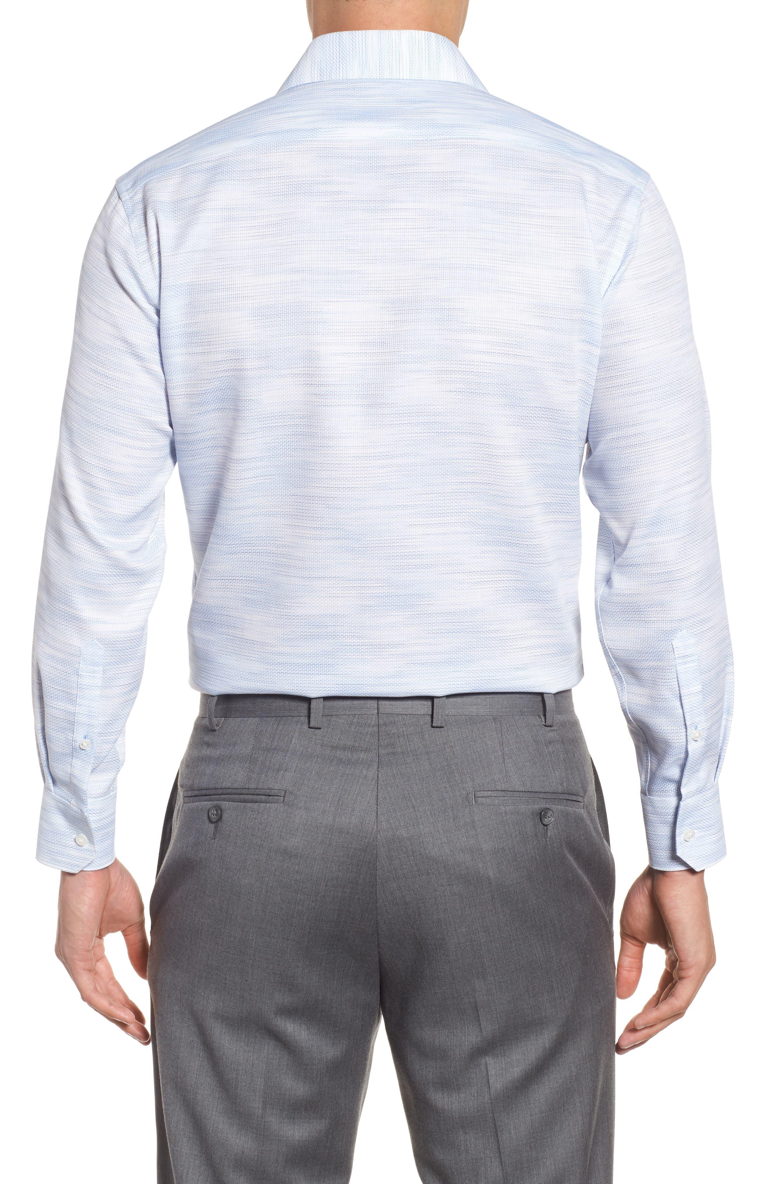 Trim Fit Solid Dress Shirt,                             Alternate thumbnail 2, color,                             400